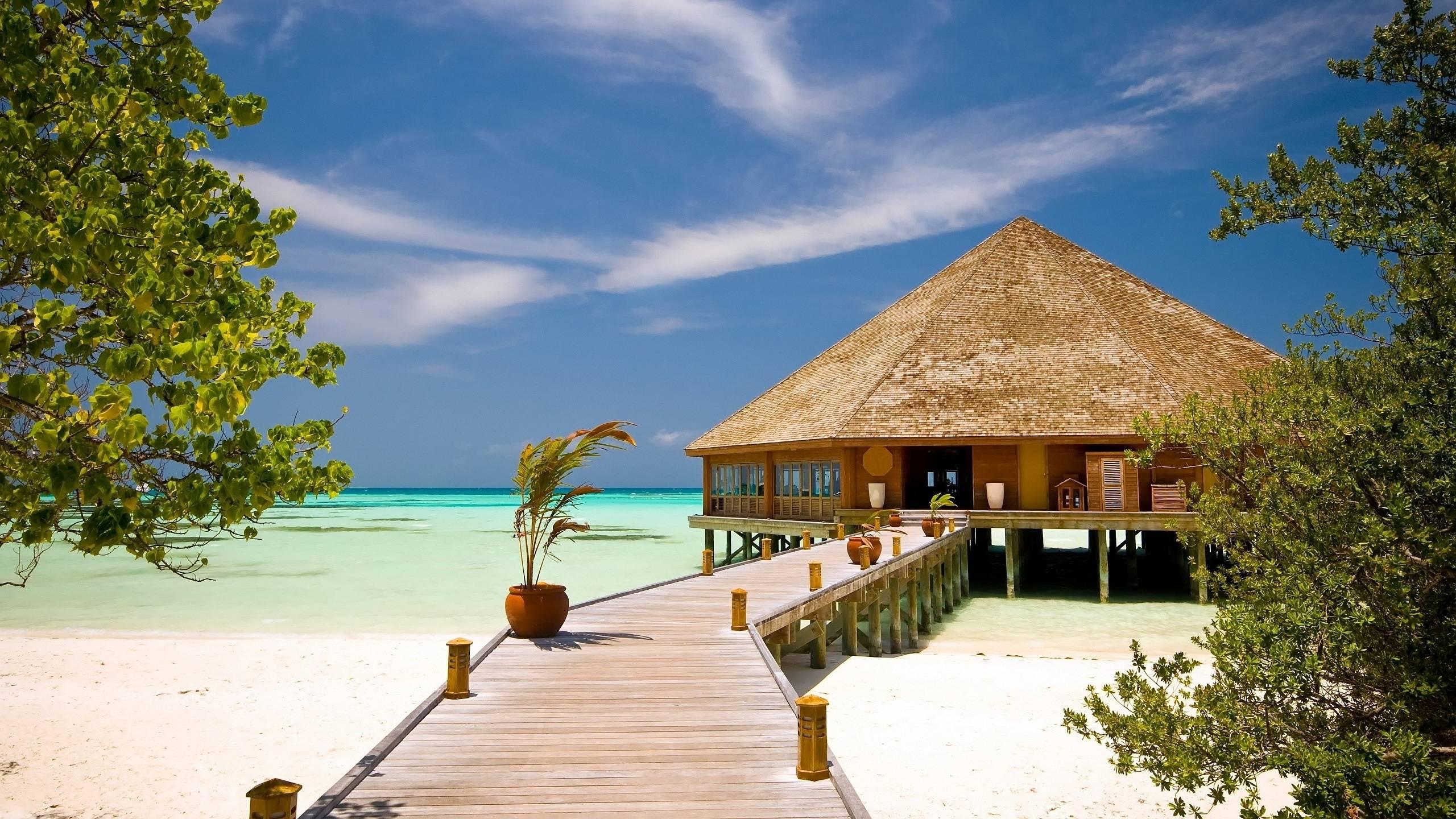 Beach Resort Wallpaper 21: Maldives Wallpapers