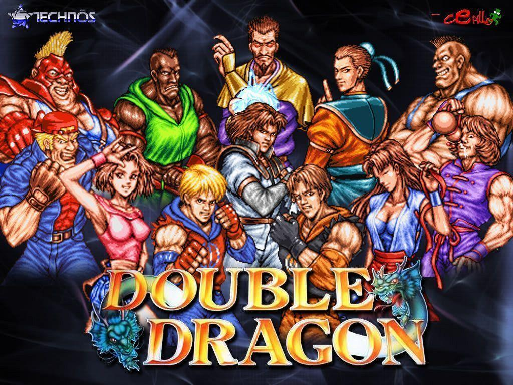 Double Dragon Wallpapers Wallpaper Cave