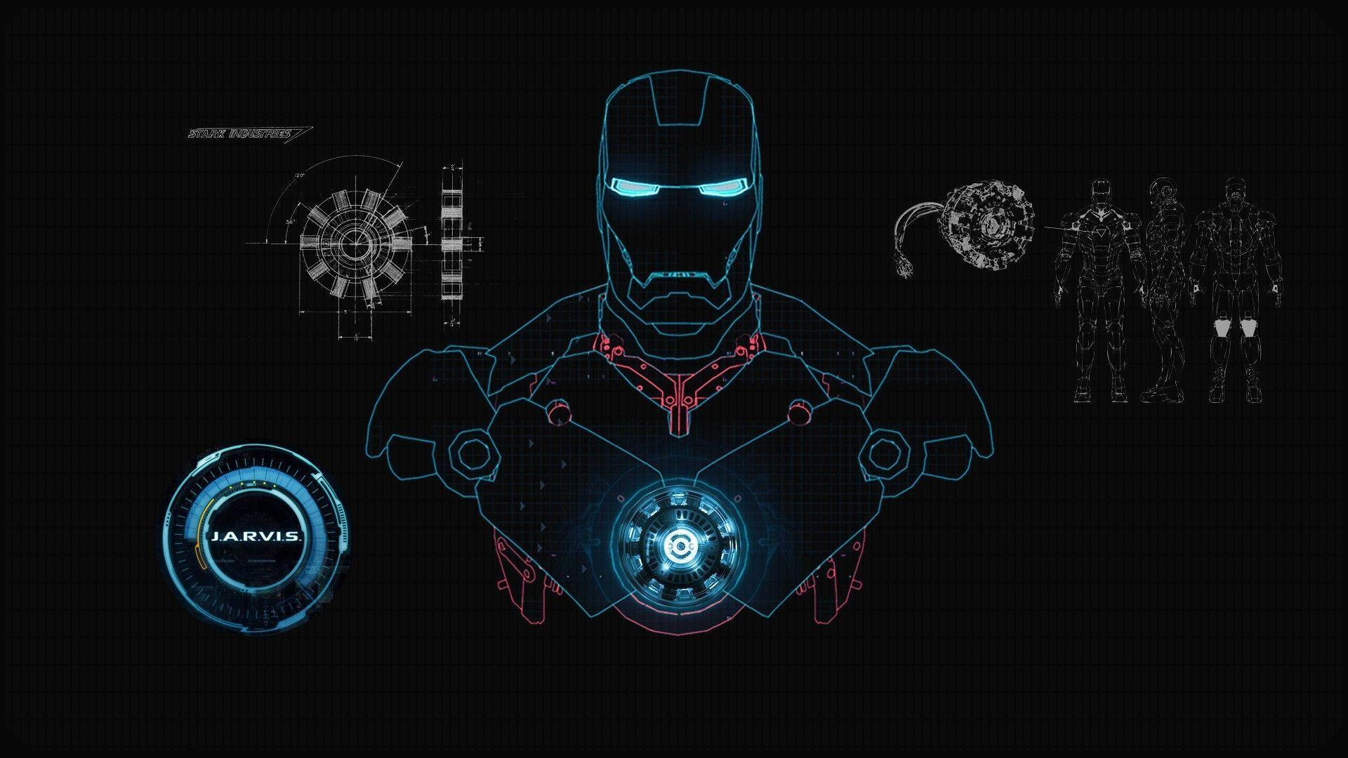 Wallpapers movie, wallpapers, iron man, suit, stark, industries