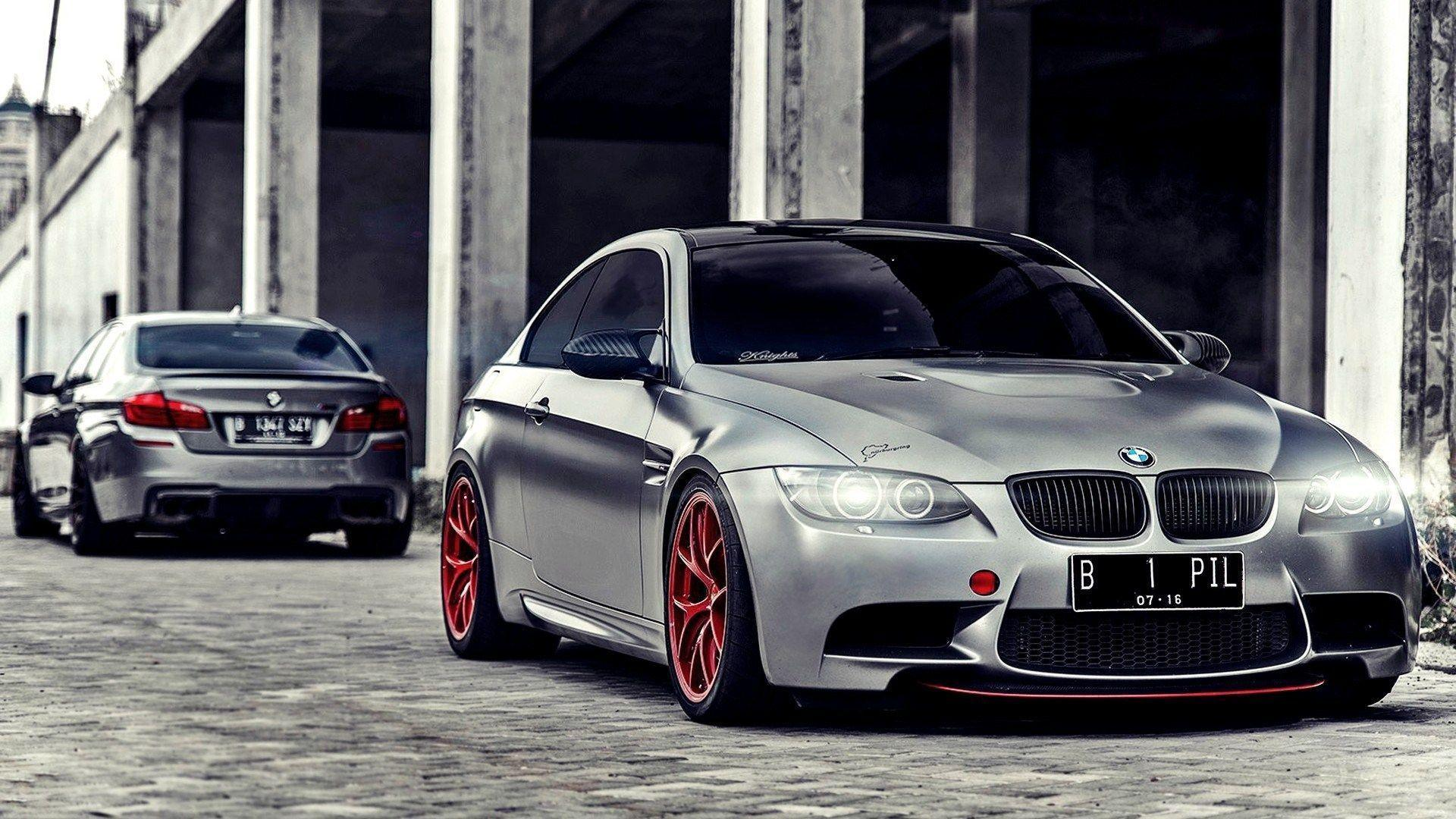 BMW M5 F10M and BMW M3 E92 HD Wallpapers