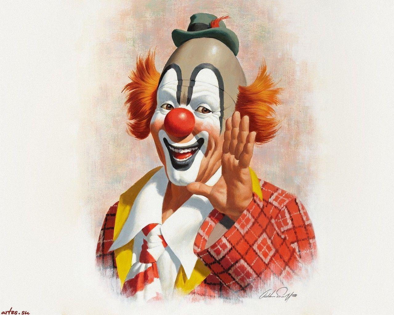 Clown wallpapers wallpaper cave - Circus joker wallpaper ...