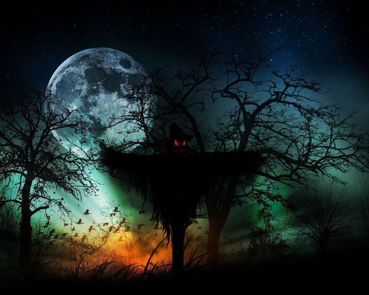 Free halloween backgrounds wallpaper cave - Dark horror creepy wallpapers ...