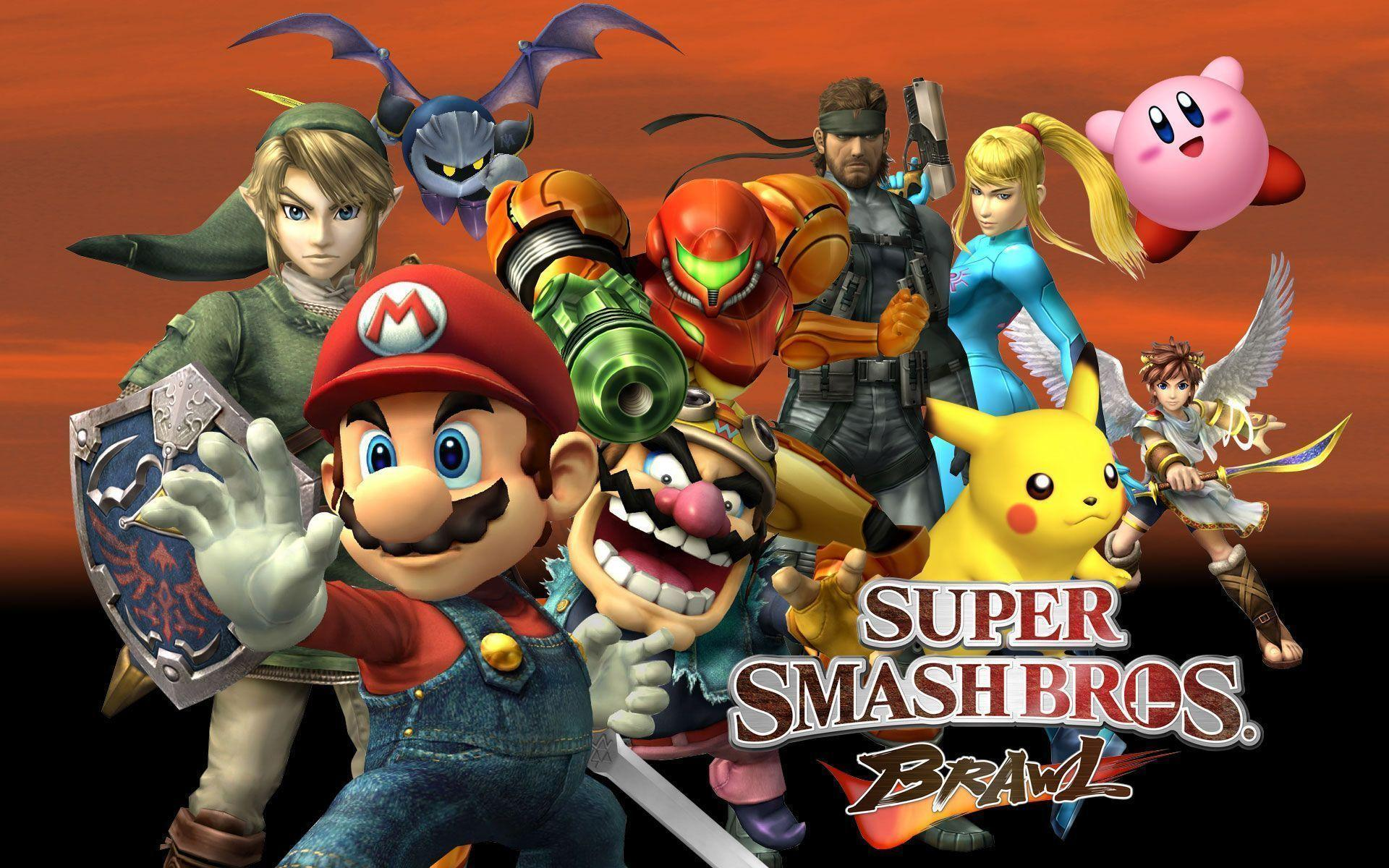 Official Art - Super Smash Bros. Brawl - Last Minute Continue