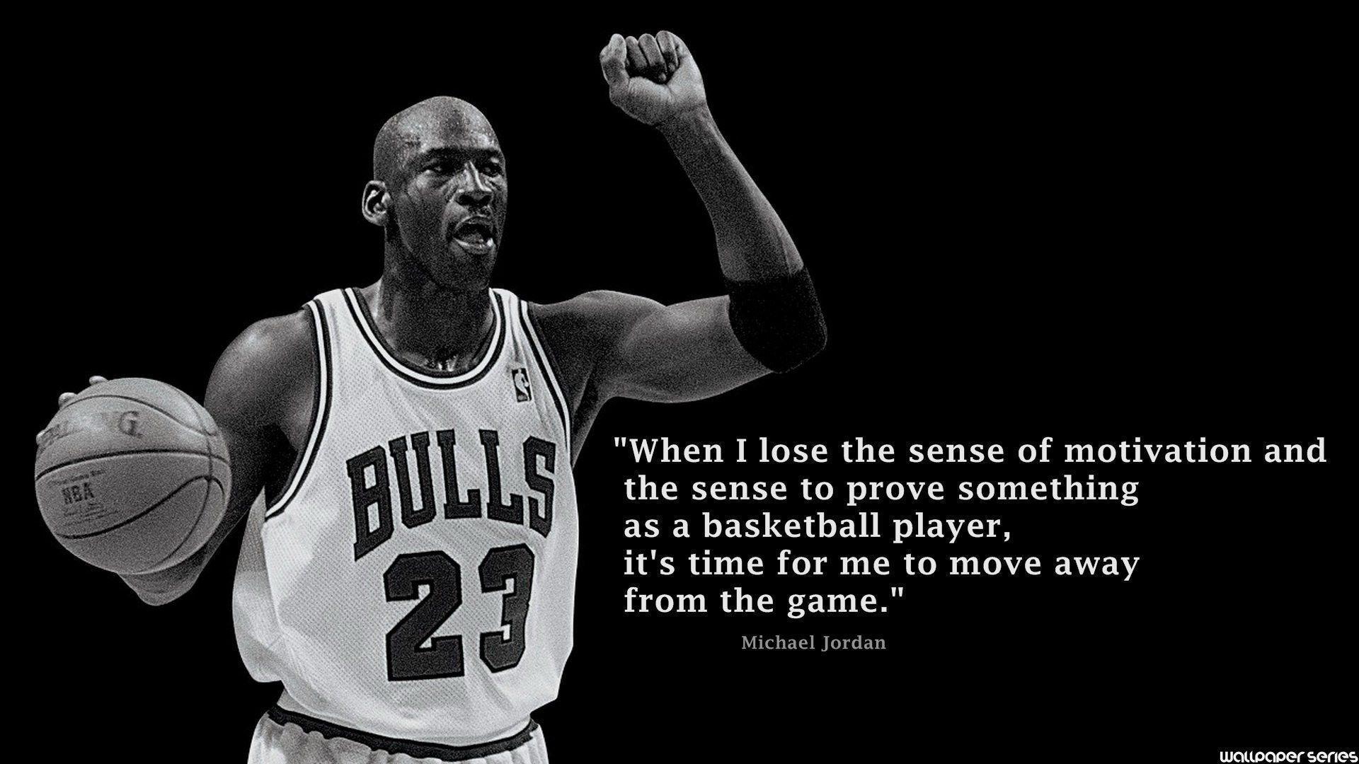 Quotes By Michael Jordan Michael Jordan Quote Wallpapers  Wallpaper Cave