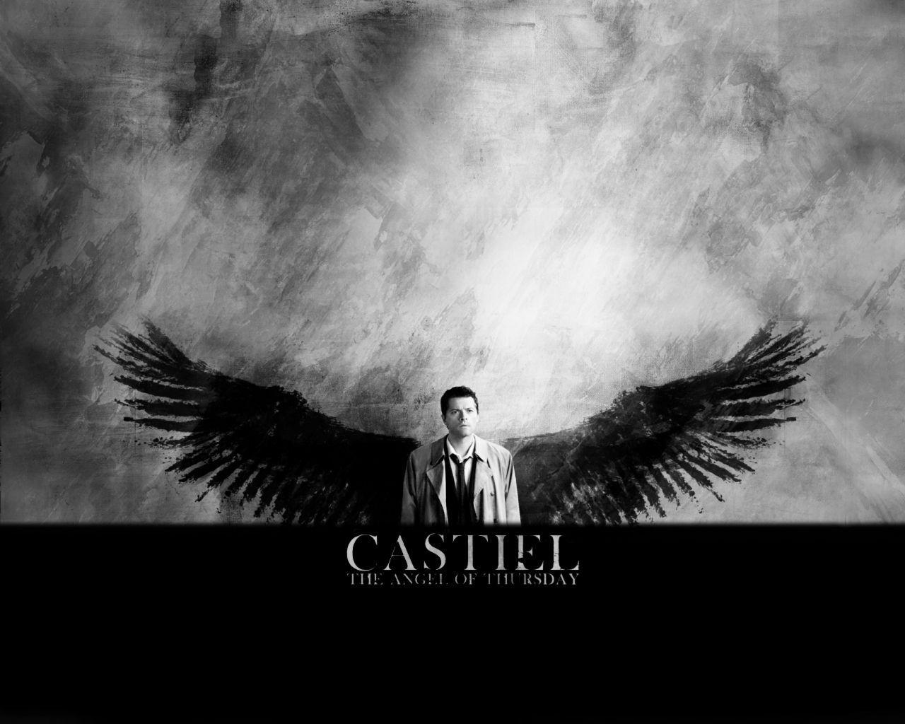 supernatural castiel wallpapers wallpaper cave