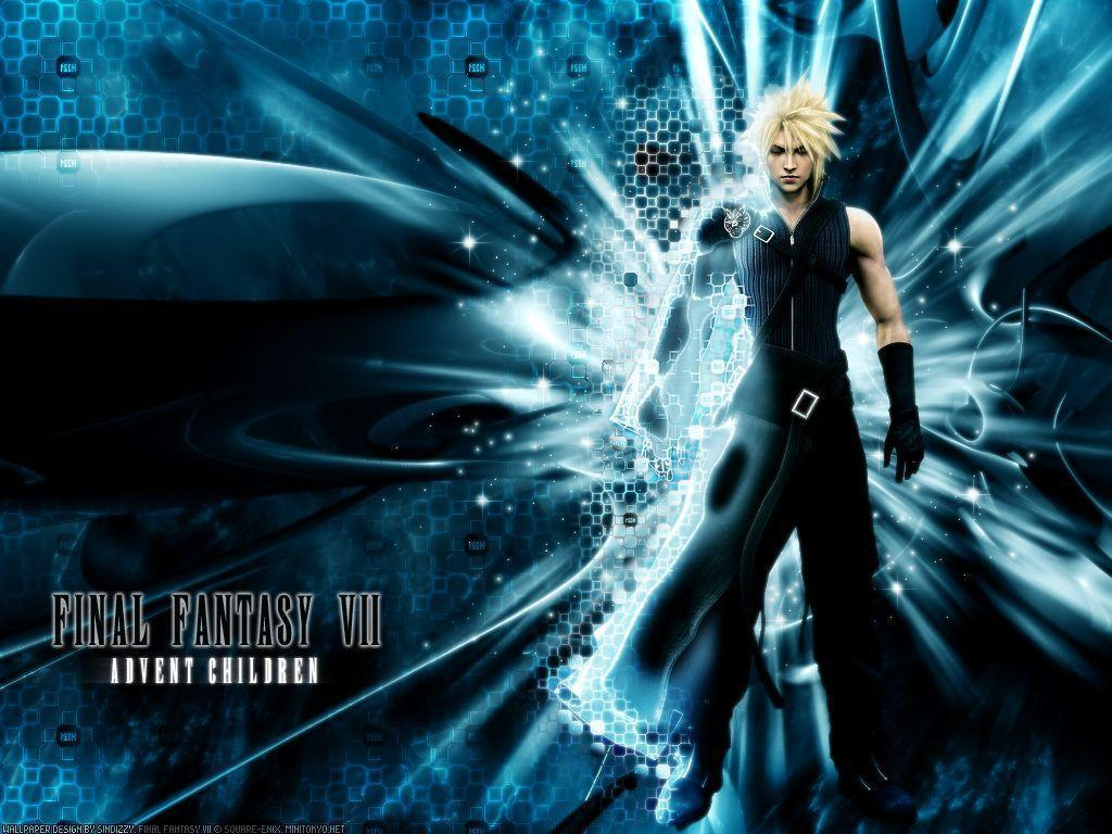 final fantasy 7 advent children wallpapers wallpaper cave