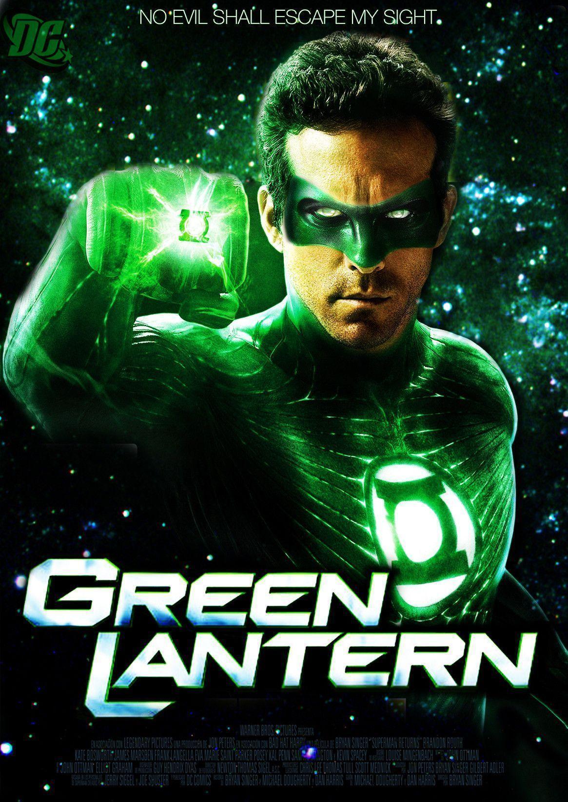 Green Lantern Movie Wallpapers - Wallpaper Cave Green Lantern Movie Poster