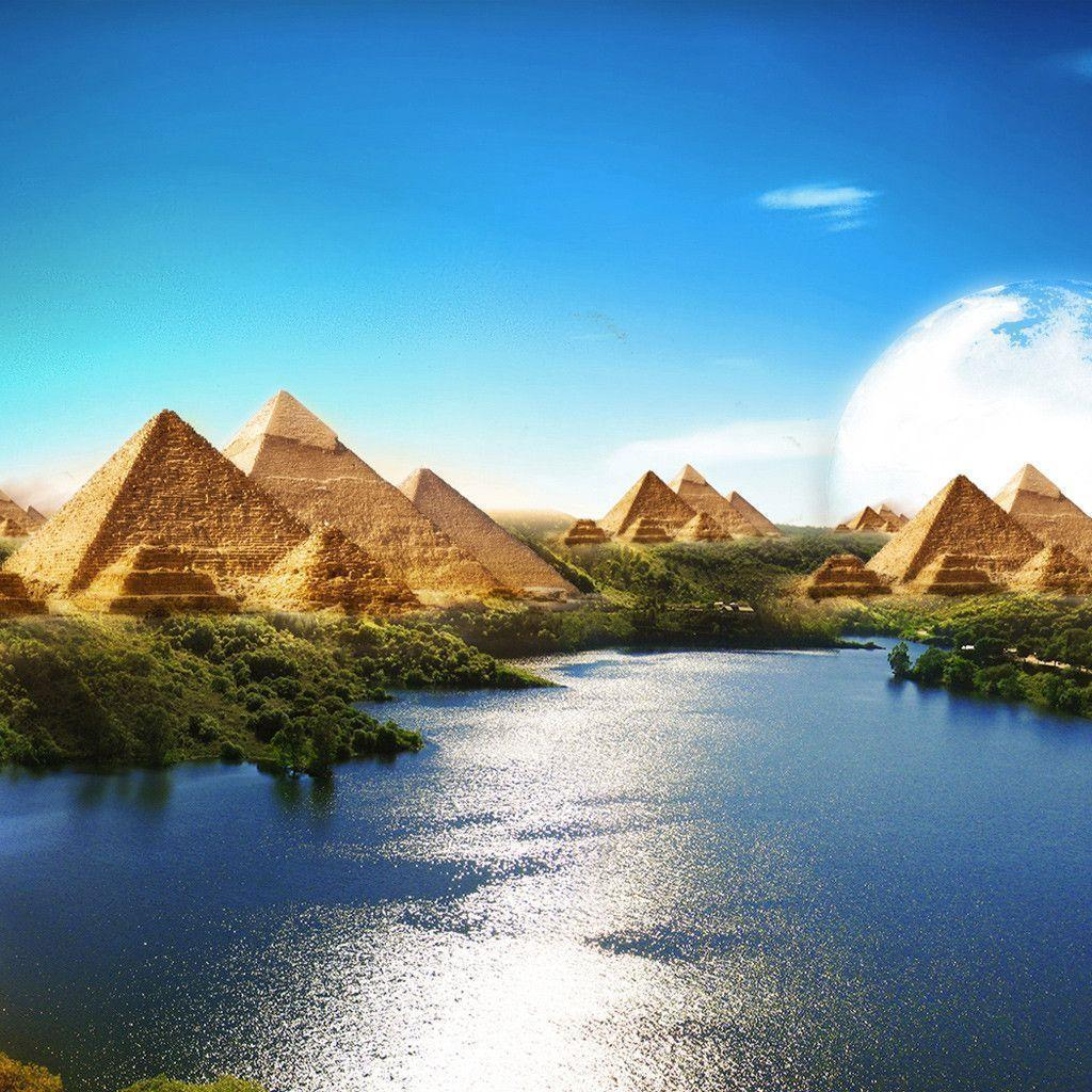 Egyptian Paradise iPad Wallpapers Download