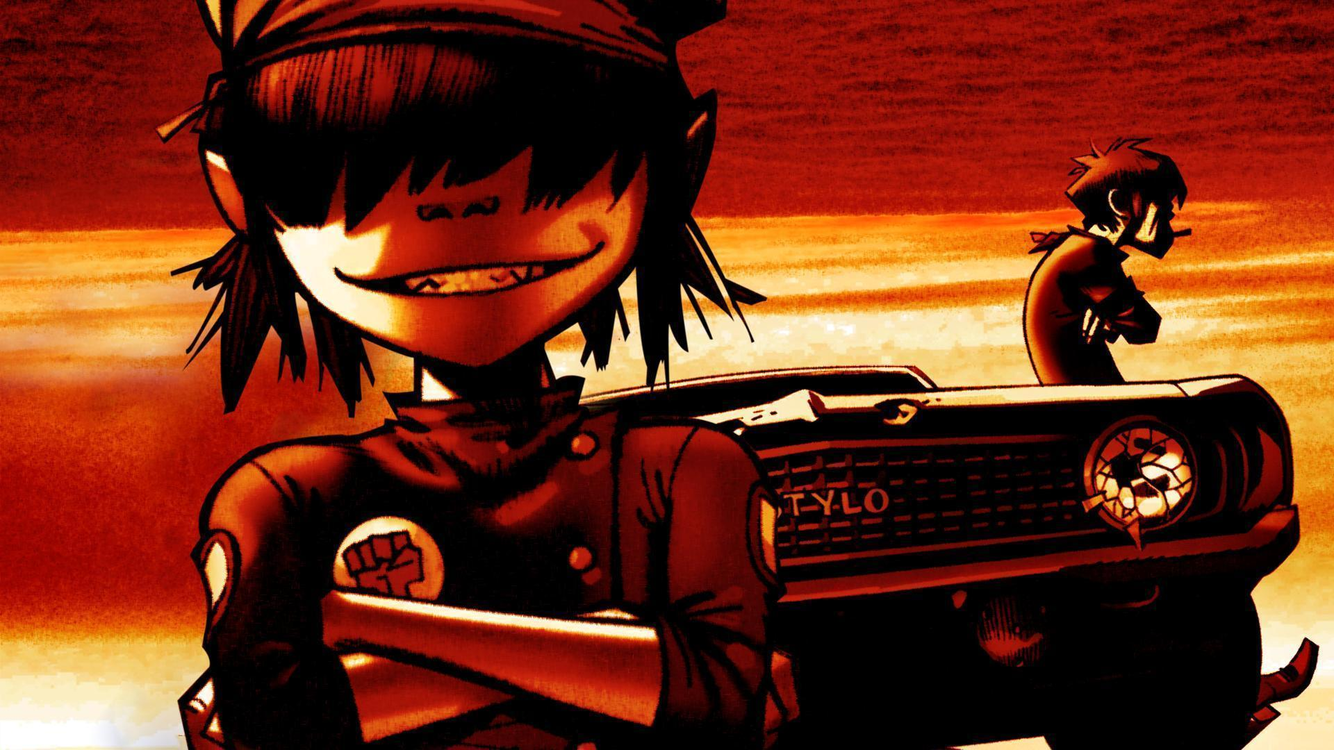 download wallpaper gorillaz desktop - photo #7