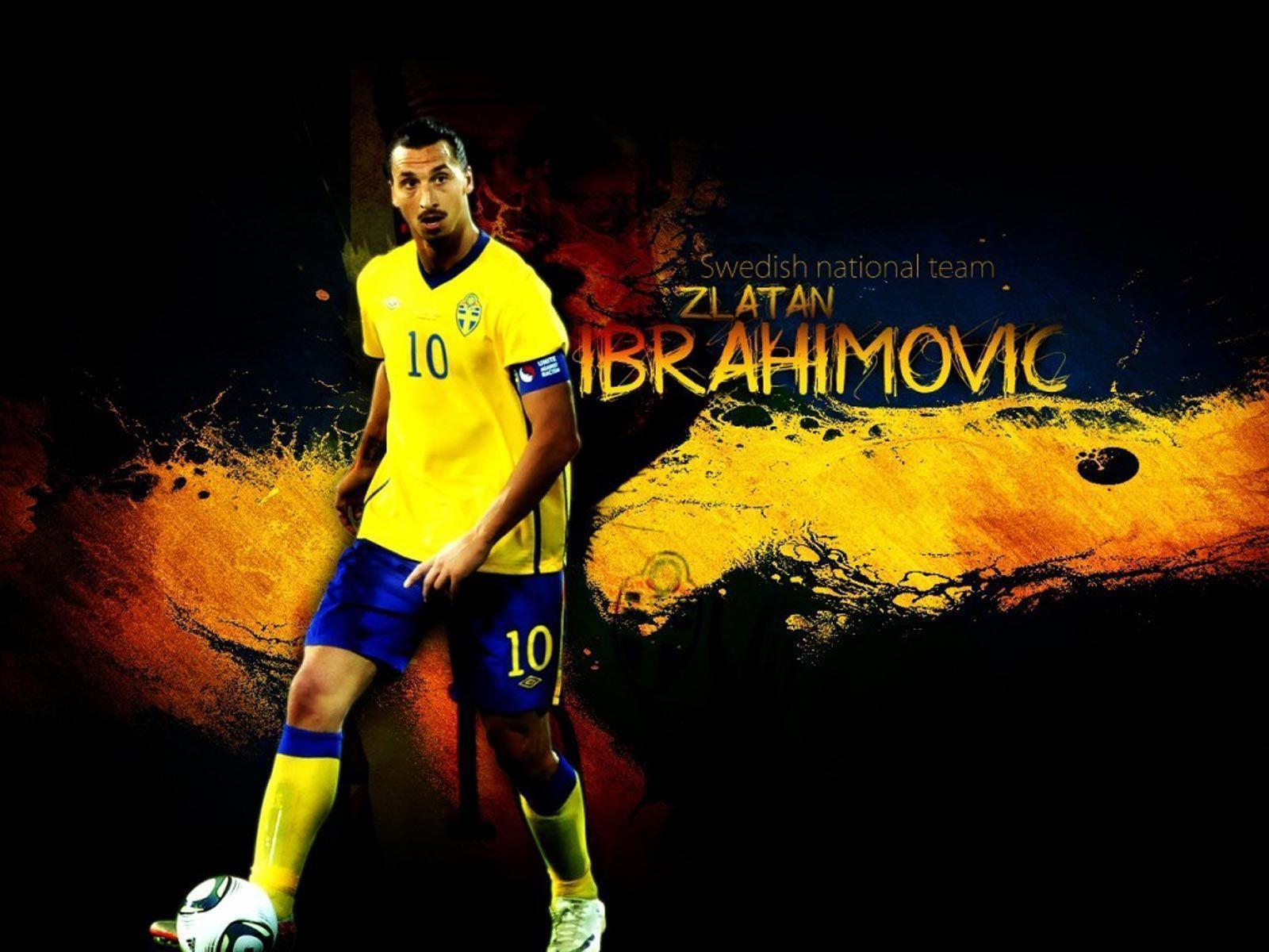 Zlatan Ibrahimovic Swedish National Team Wallpaper, iPhone ...