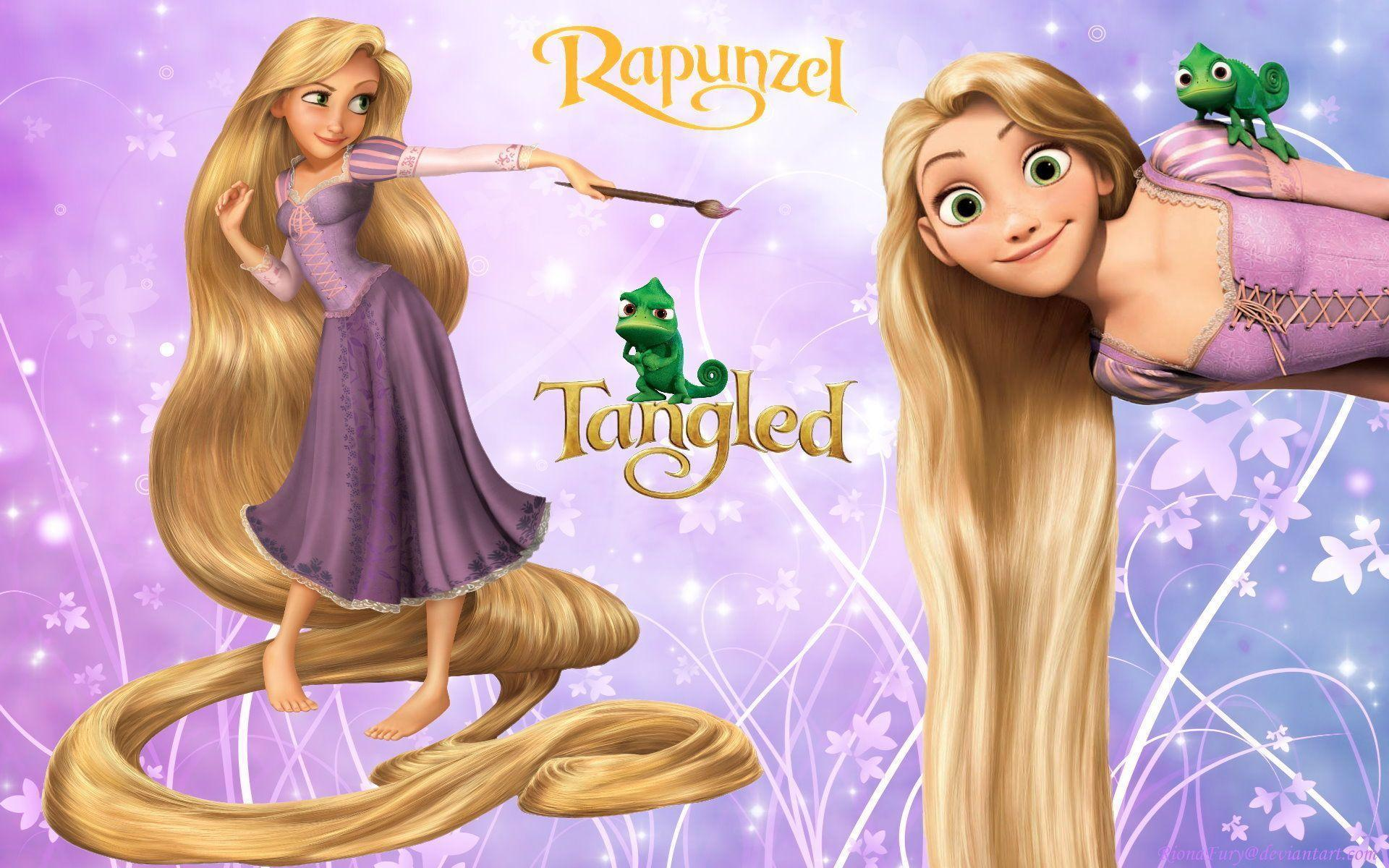 Disney Princess Rapunzel - Tangled Wallpaper (23744590) - Fanpop