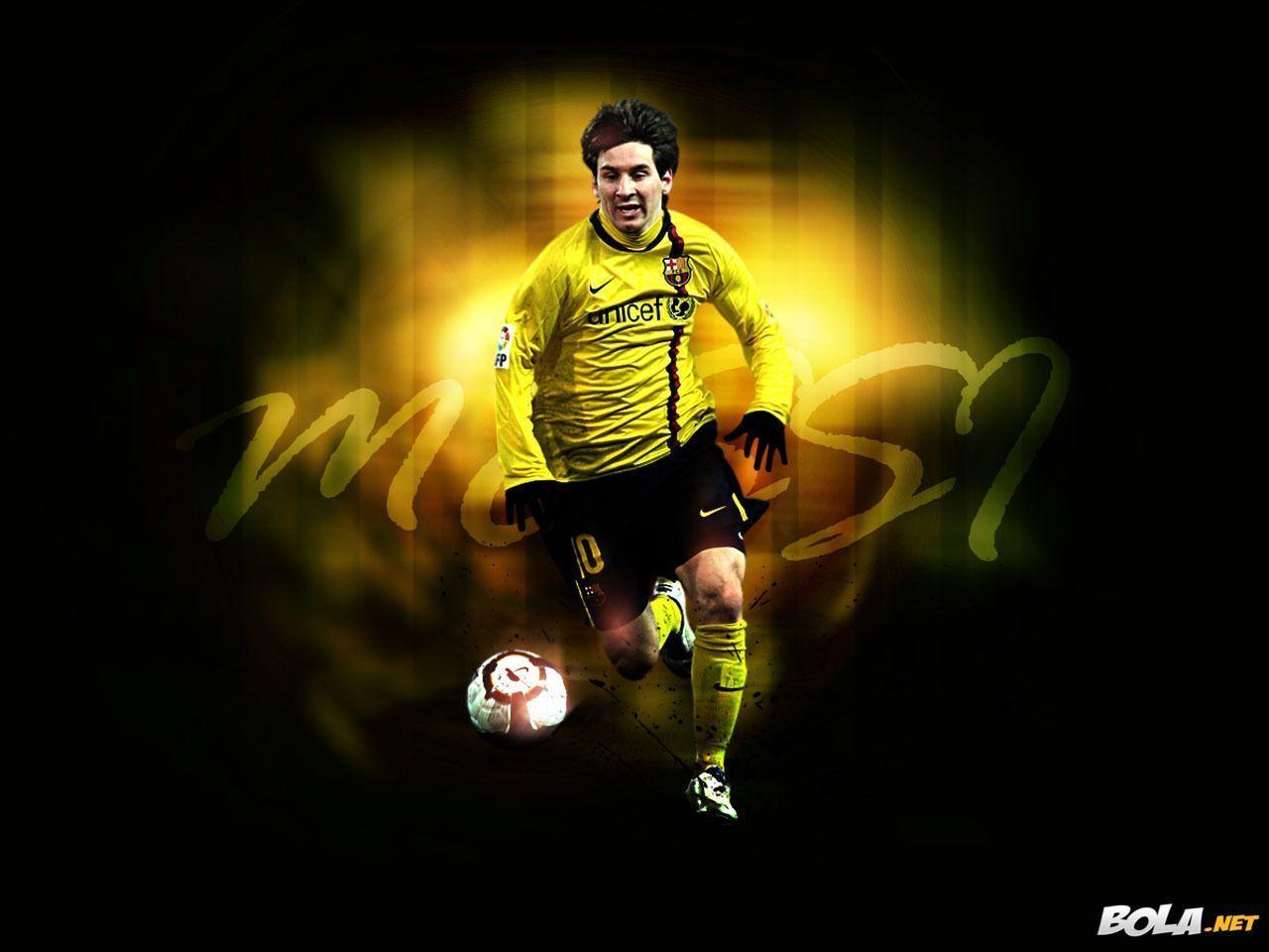 Lionel Messi HD Wallpaper 2014 (yellow) - Football Wallpaper HD ...