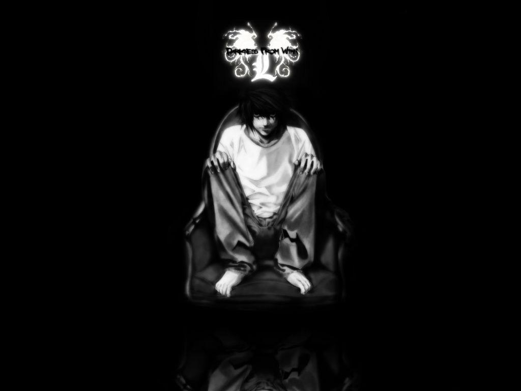 Death Note L Wallpaper HD #1664 Wallpaper | Best Wallpaper HD
