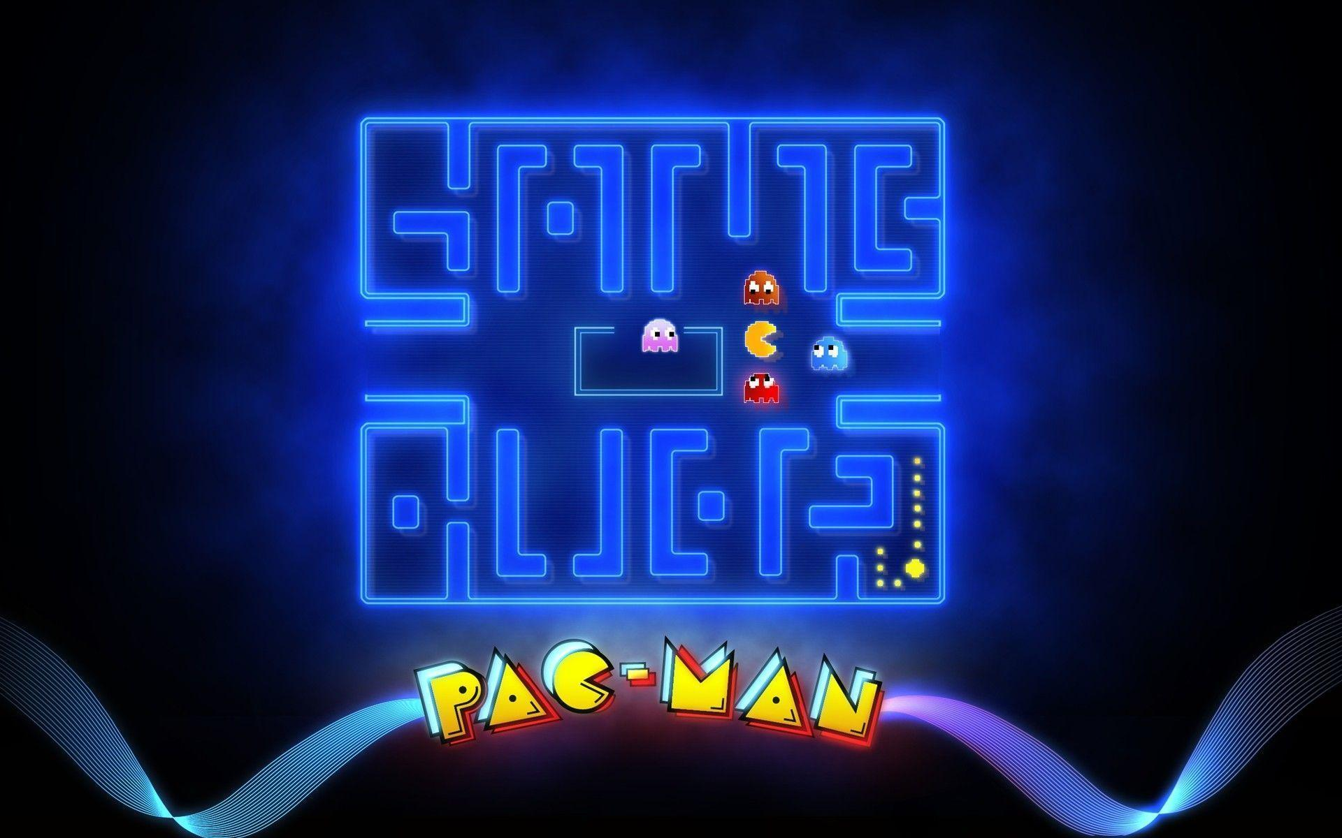 Arcade Game Wallpaper Group With 57 Items: Pacman Wallpapers
