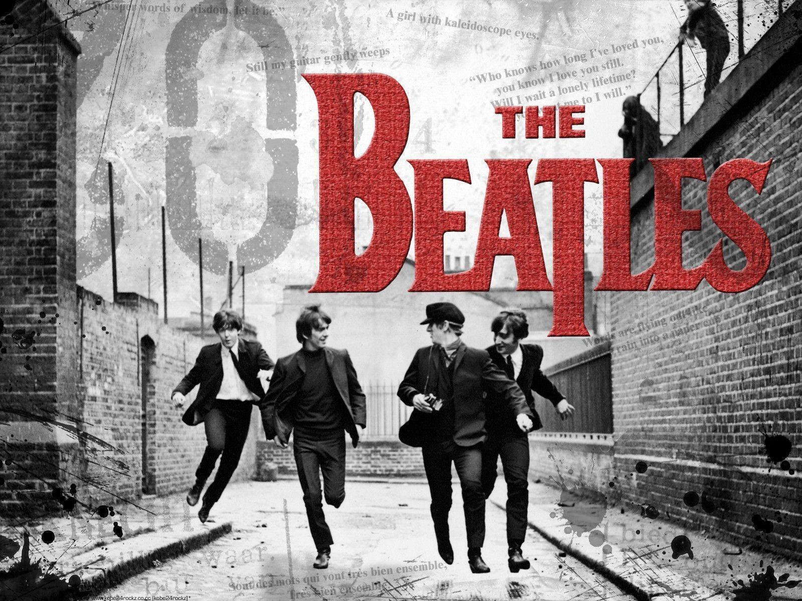 Free The Beatles Desktop Wallpaper
