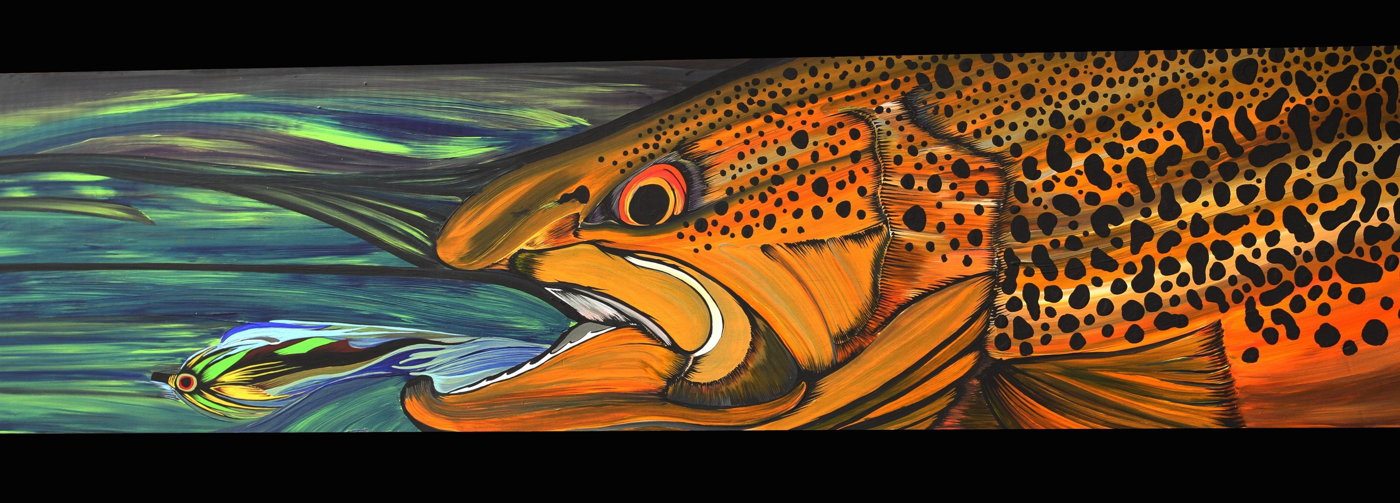 trout fly fishing wallpaper - photo #40