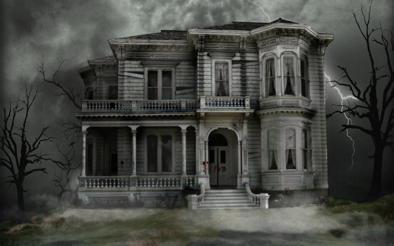 com wallpapers halloween house windows - photo #10
