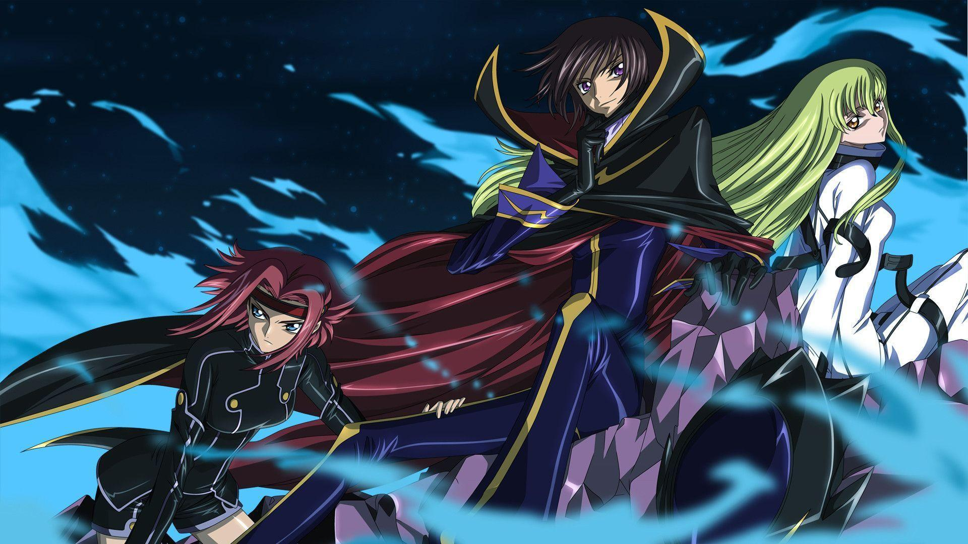 Code Geass, Stadtfeld, Kallen HD Wallpapers