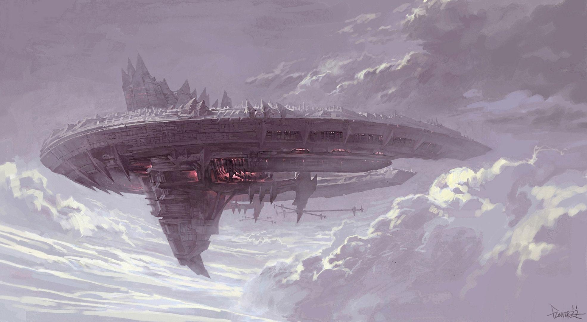 Spaceship Wallpaper 787