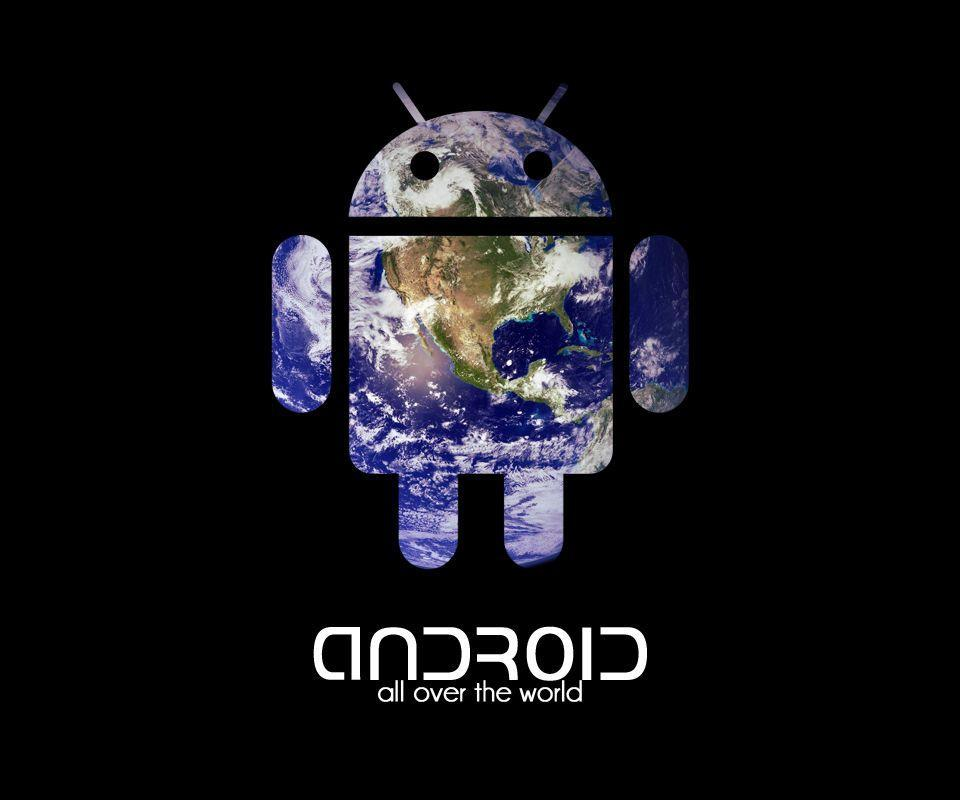 Gallery For > Droid Logo Wallpaper