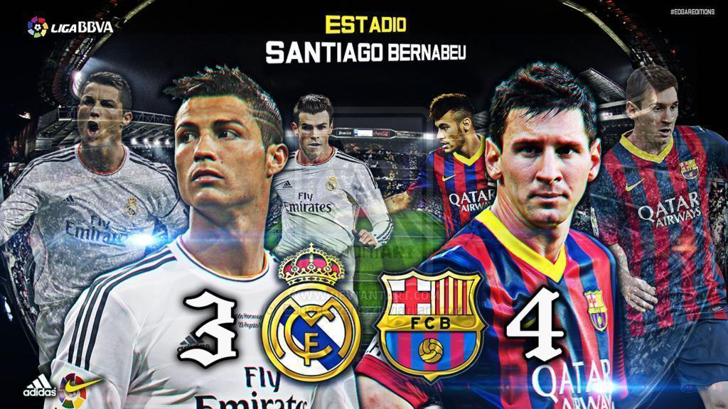 Real Madrid vs. Barcelona Custom Wallpapers [HD] by EdgarLazarte on