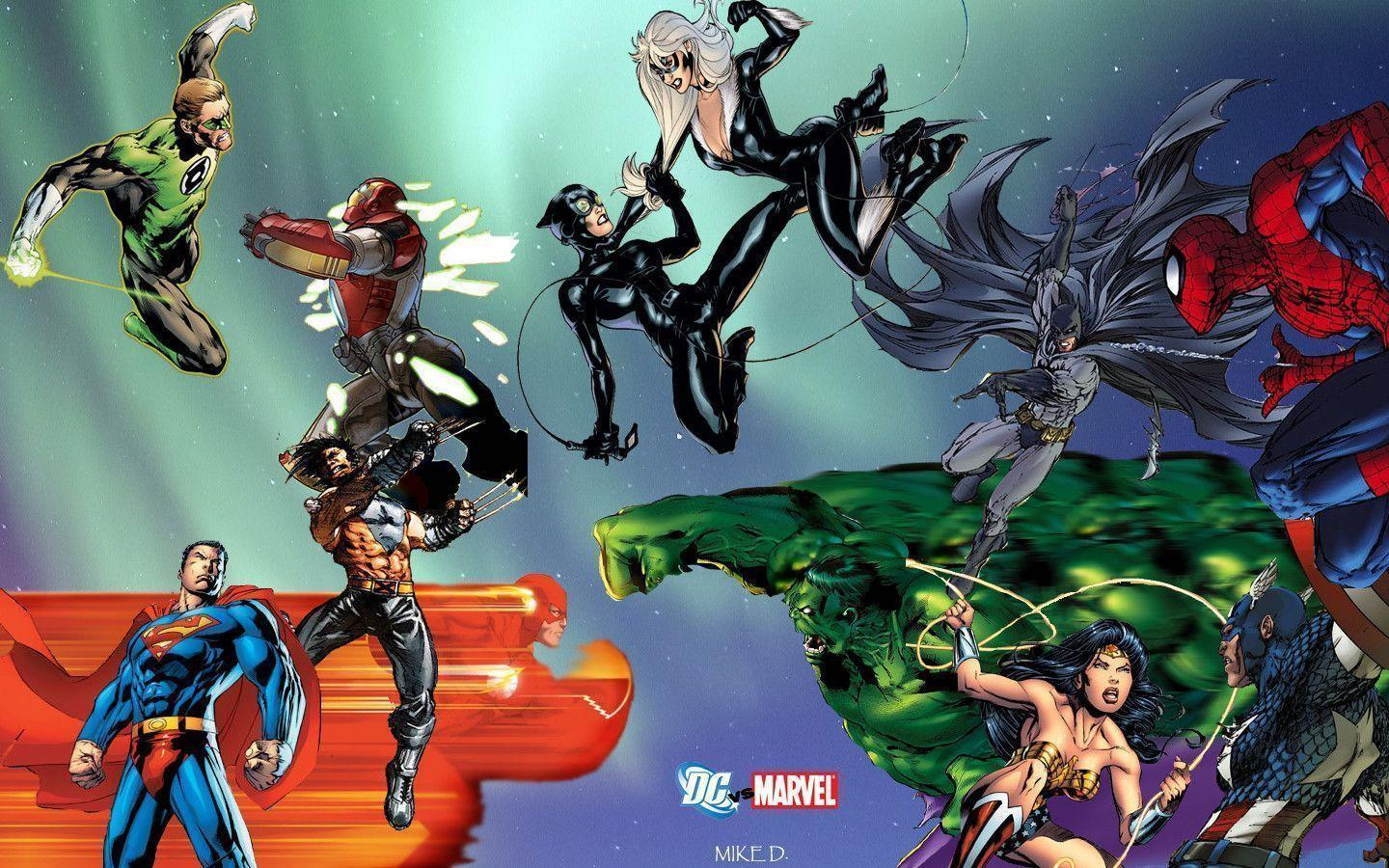 marvel dc wallpaper by - photo #14