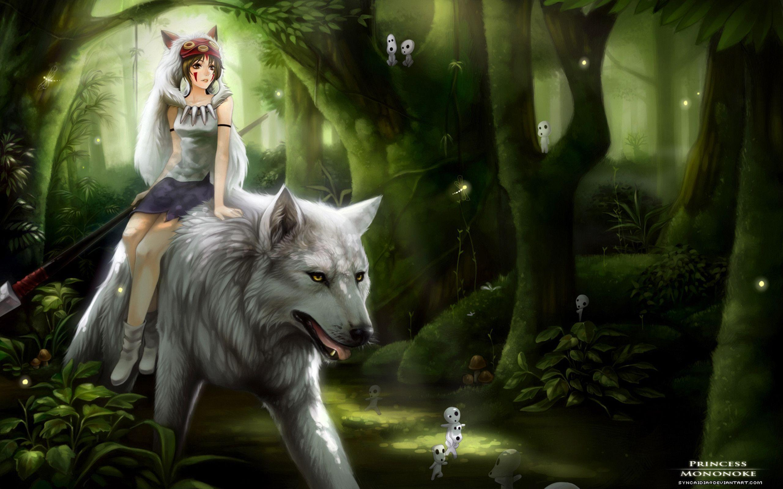 Mononoke Wallpapers Wallpaper Cave