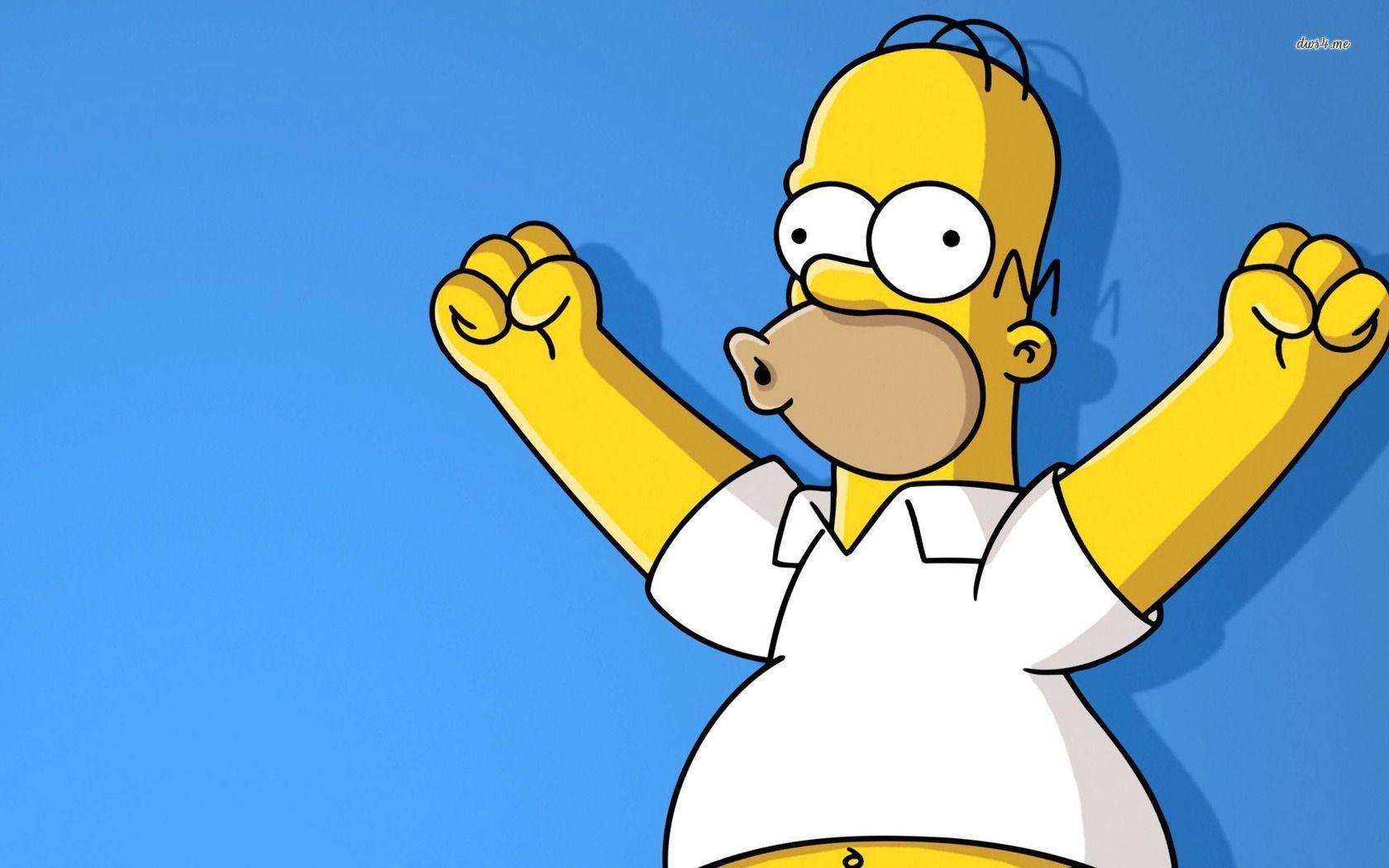 Homer simpson backgrounds wallpaper cave for Simpsons wallpaper for bedroom