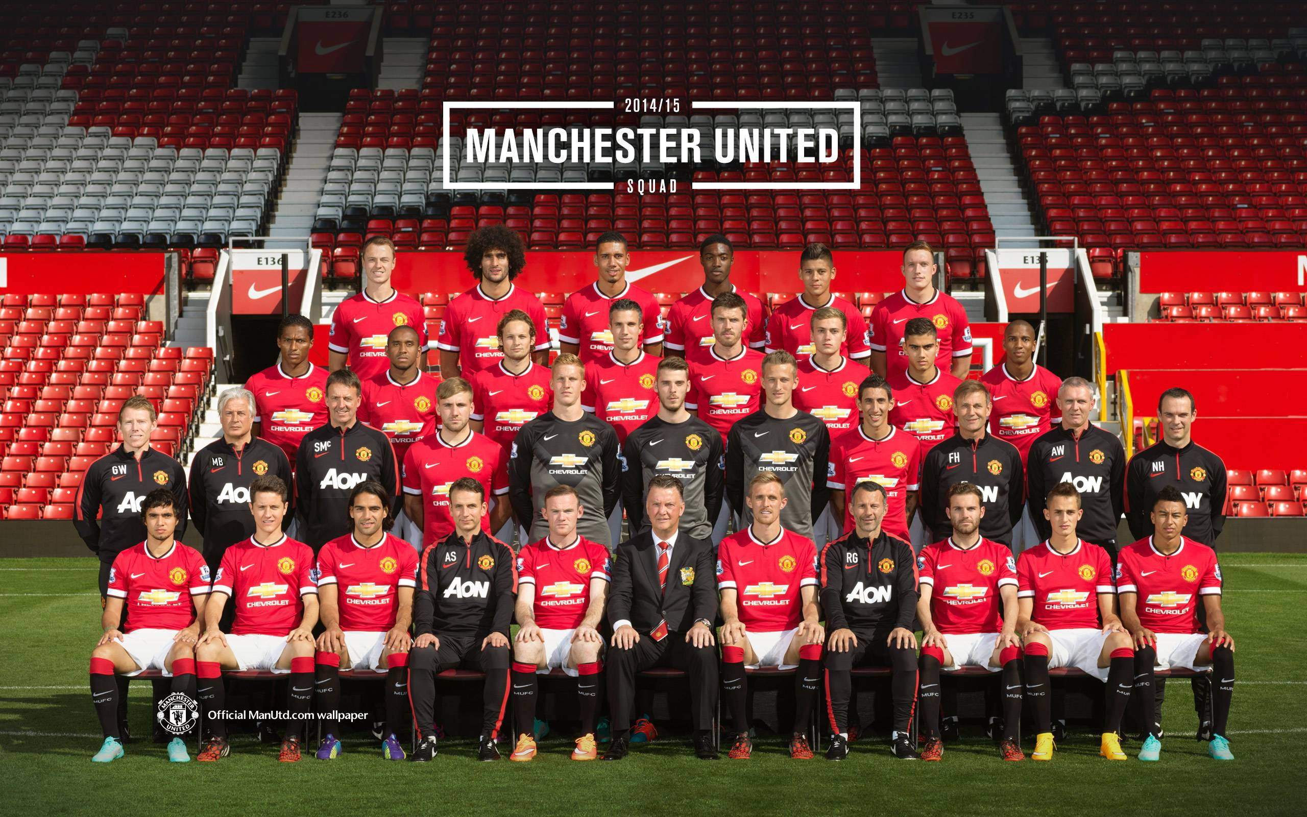 Skuad Manchester United 2014