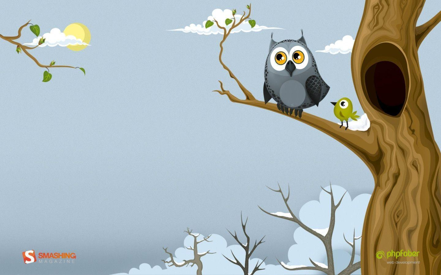 cute owl fall themed wallpapers - photo #41