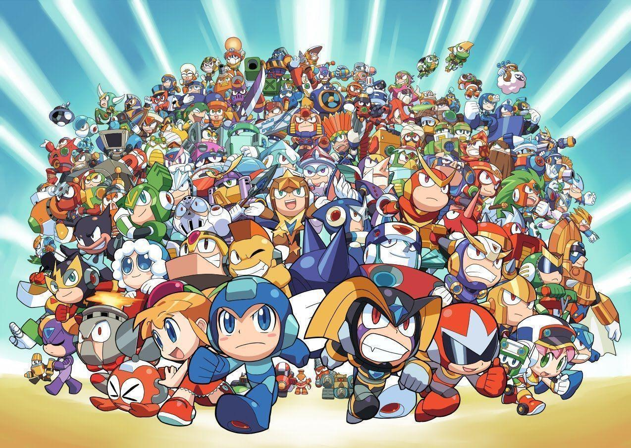 One Life Gamer: A Mega, Mega Man Wallpapers