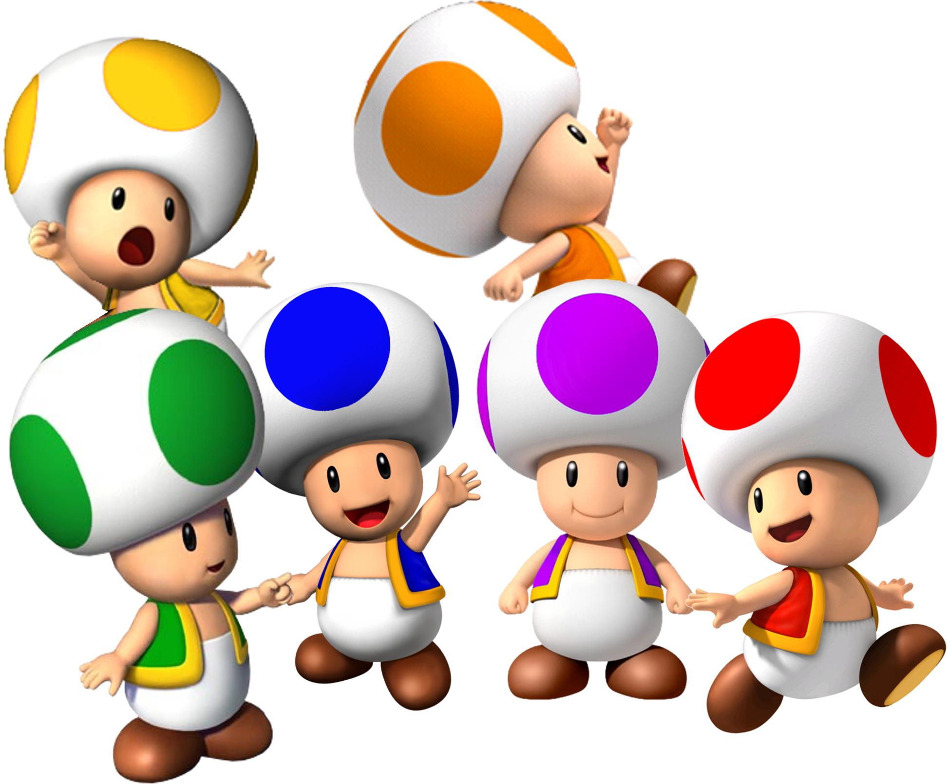HD Wii Wallpapers, Mario Kart, Super Mario Galaxy 2, Toad