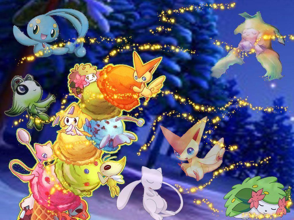 Pokemon christmas wallpapers wallpaper cave - Family tree desktop wallpaper ...
