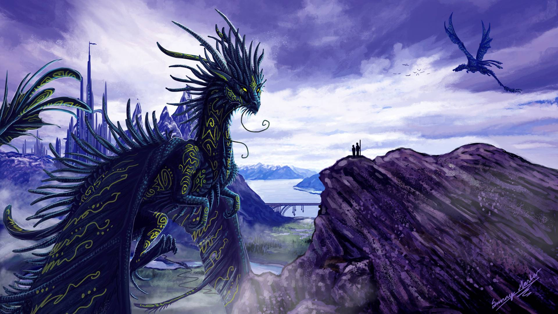 dragon wallpaper widescreen high resolution - photo #13