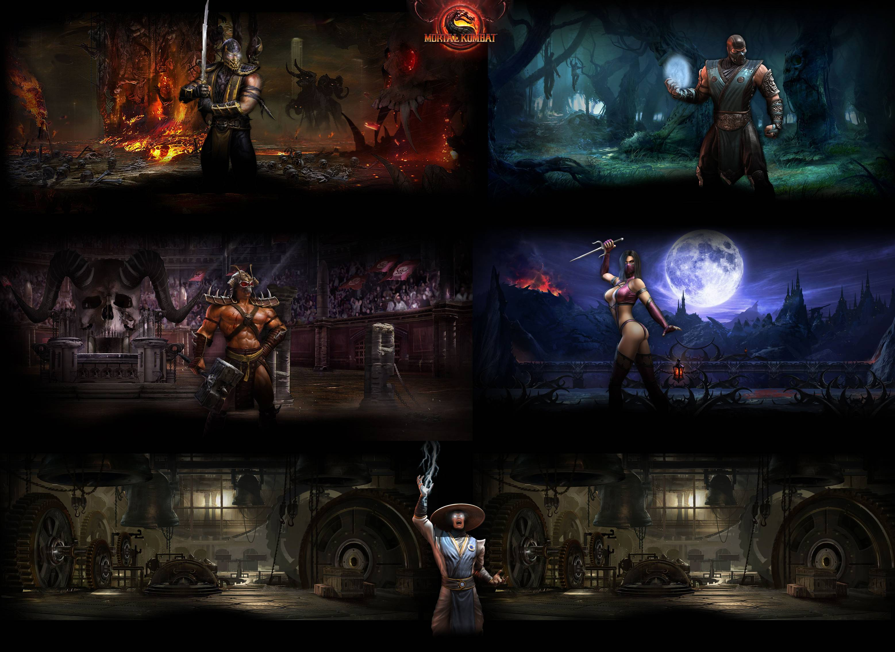 Mortal Kombat 9 Wallpapers 2 by father12345