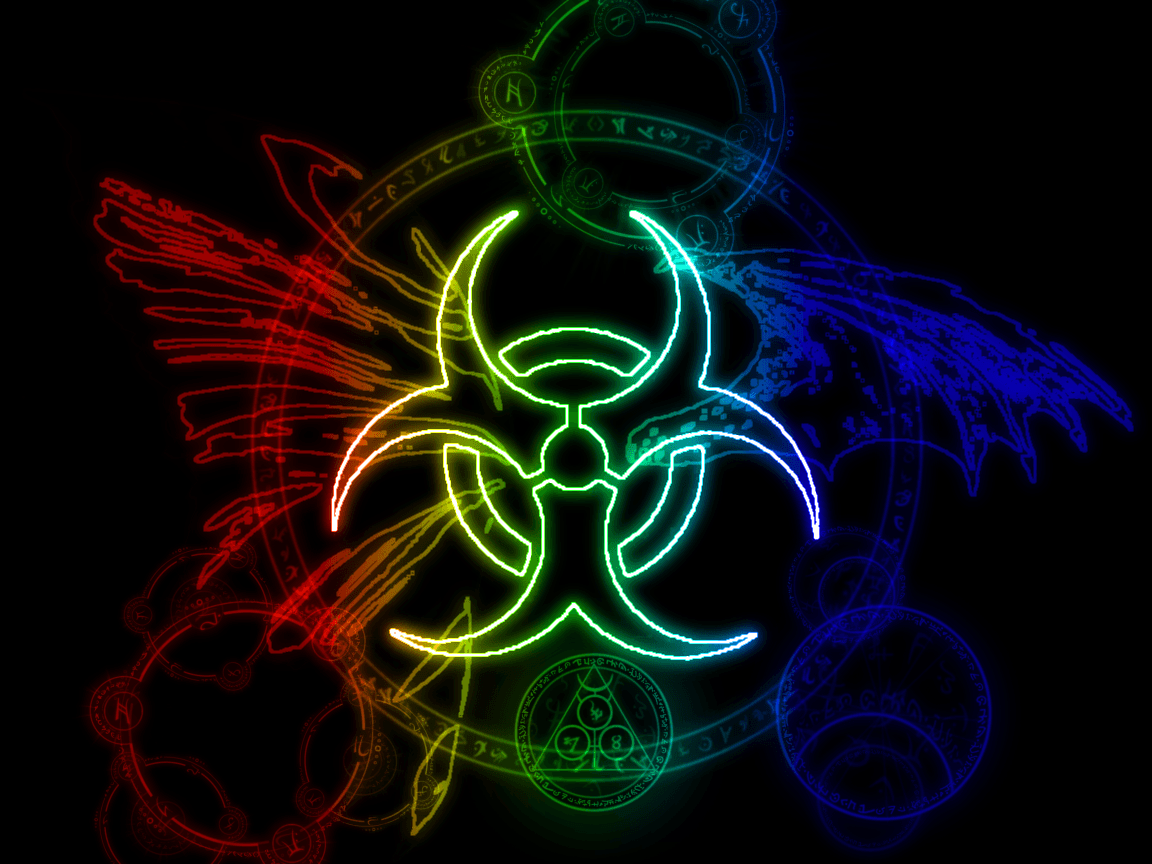 biohazard symbol wallpapers wallpaper cave