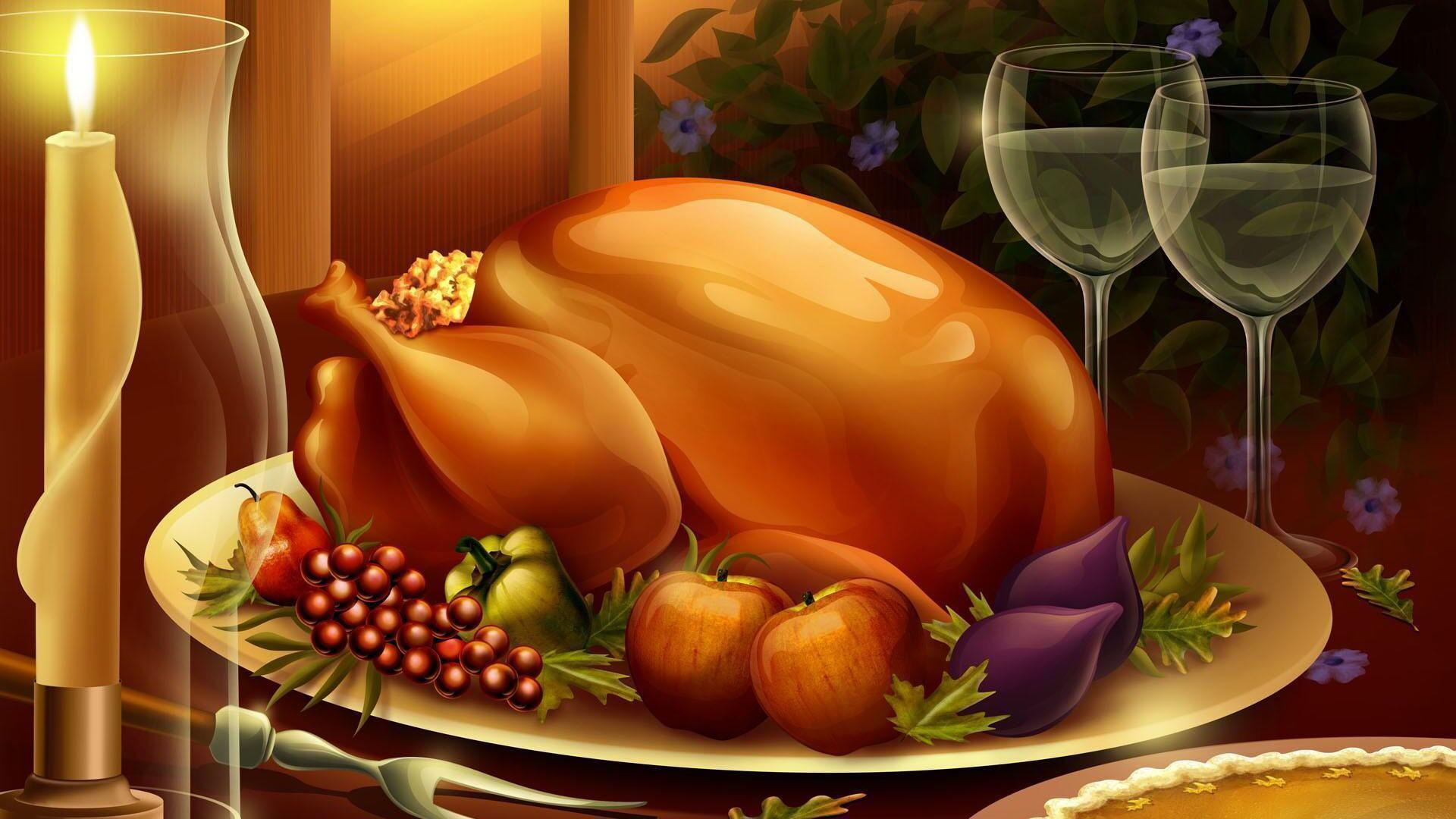 Thanksgiving 3D Wallpapers