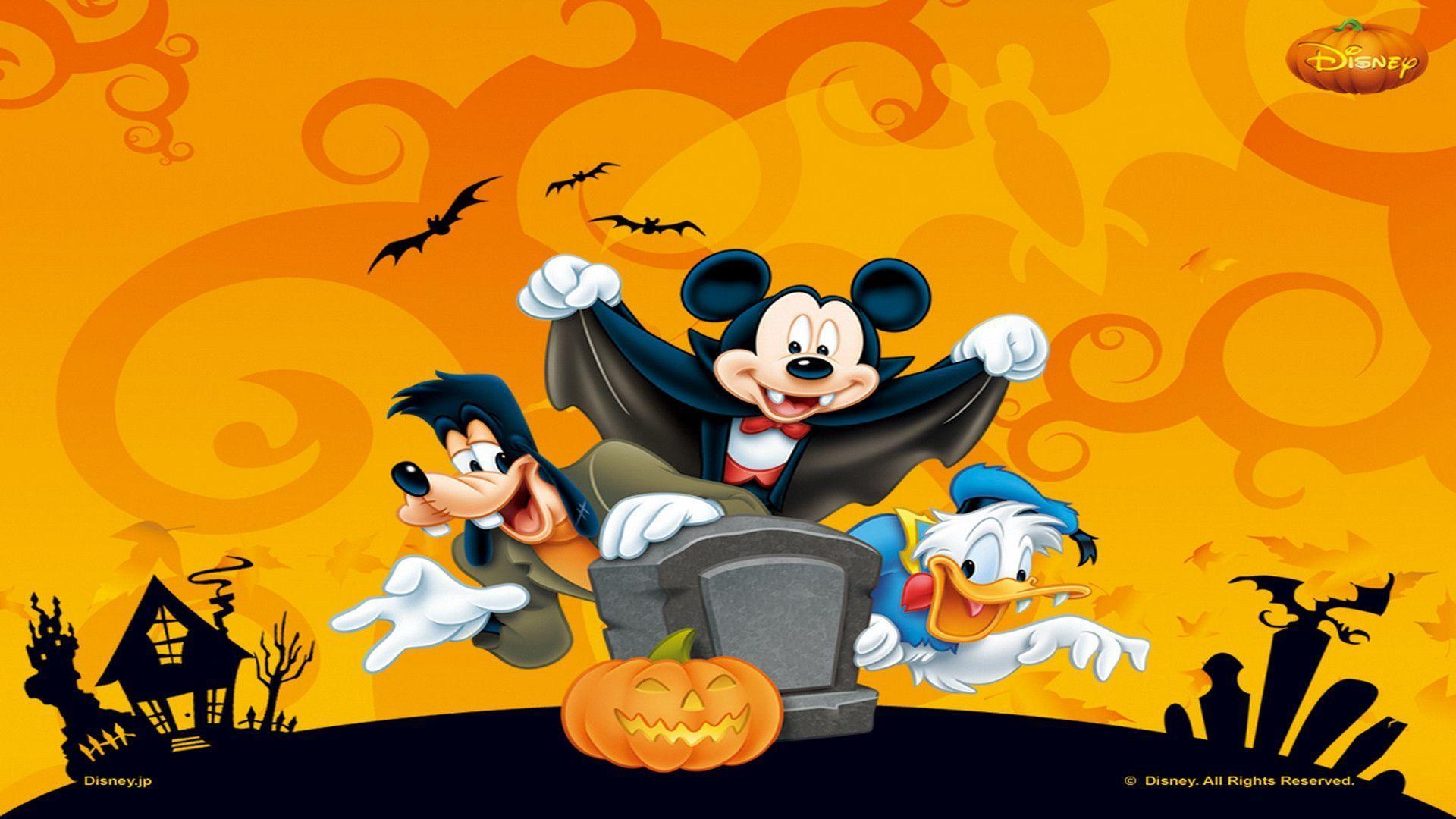Disney Halloween Wallpapers - Wallpaper Cave