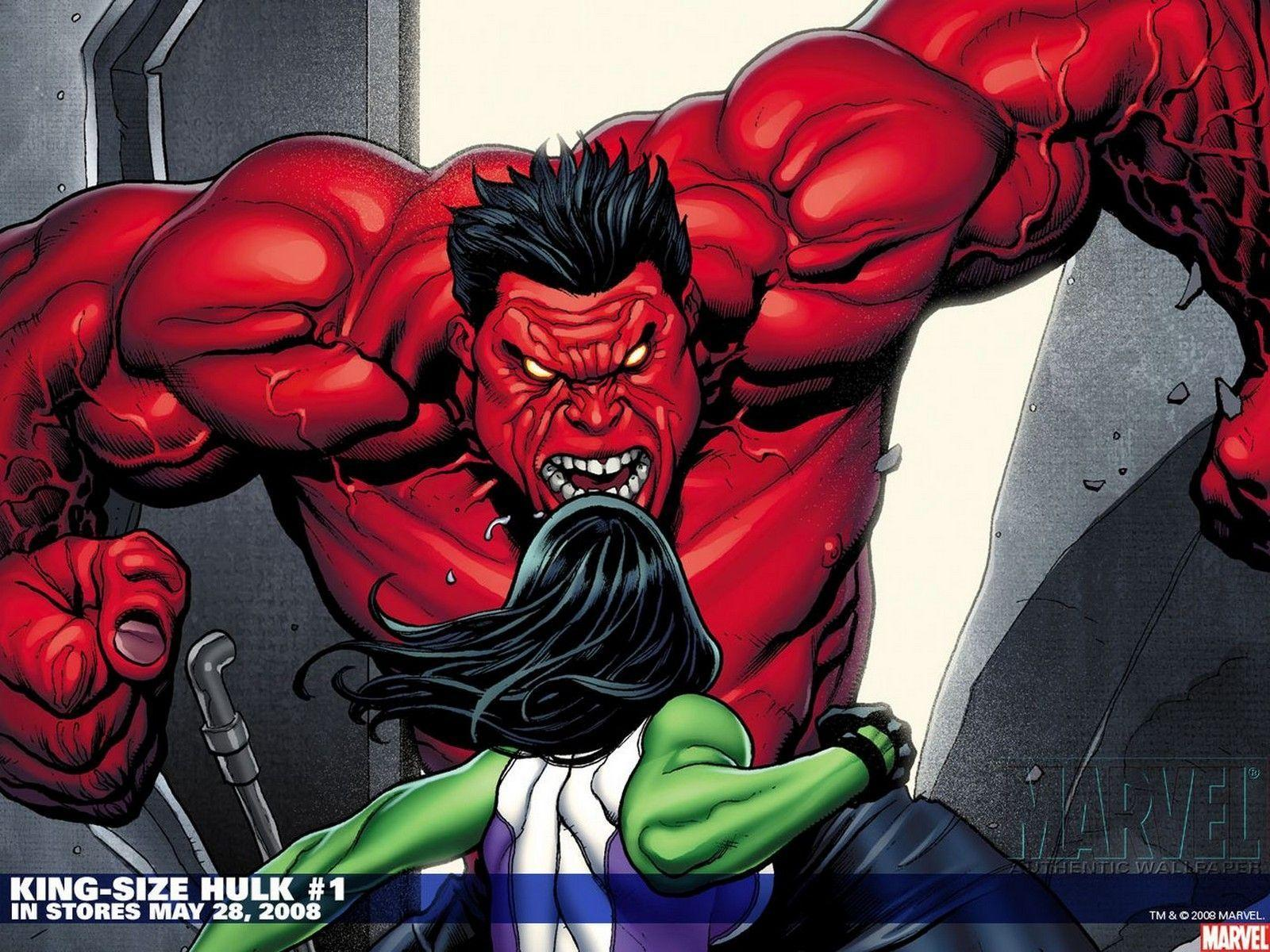 Red Hulk Wallpapers Hd Wallpaper Backgrounds