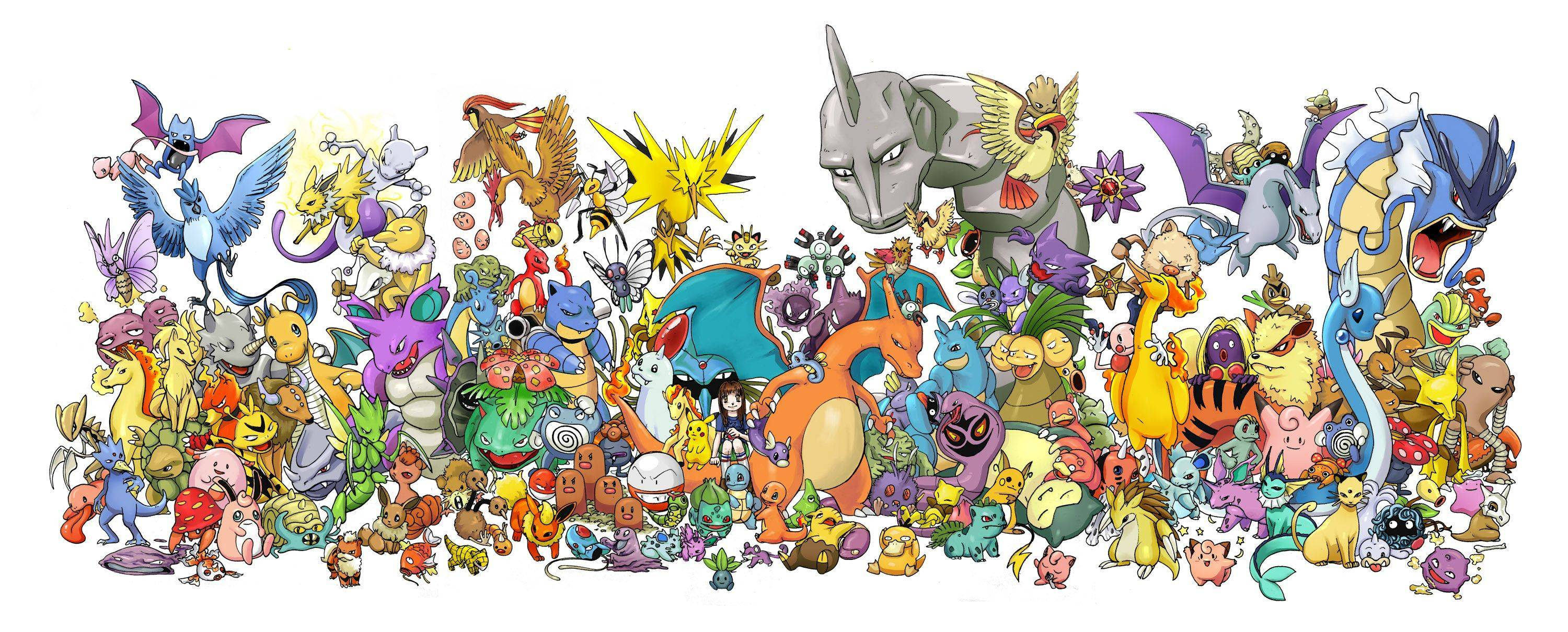Original Pokemon Wallpapers - Wallpaper Cave