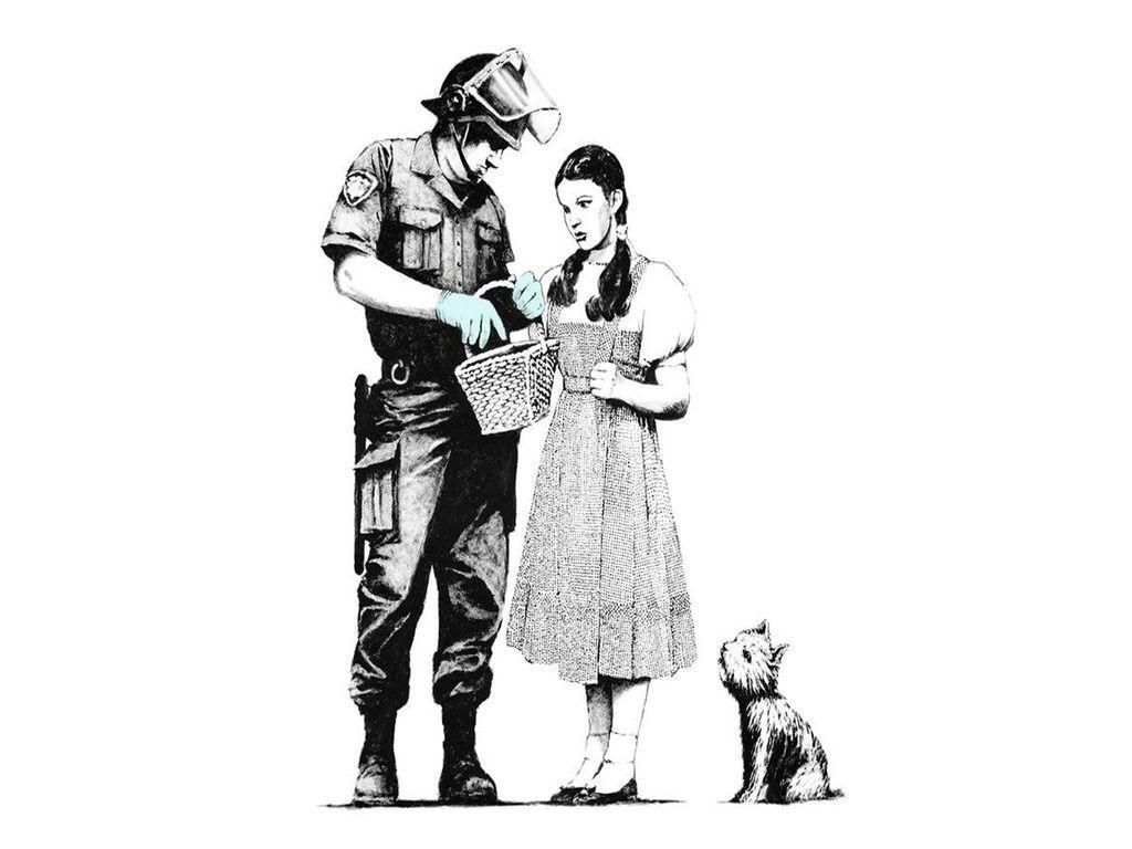 Banksy wallpaper