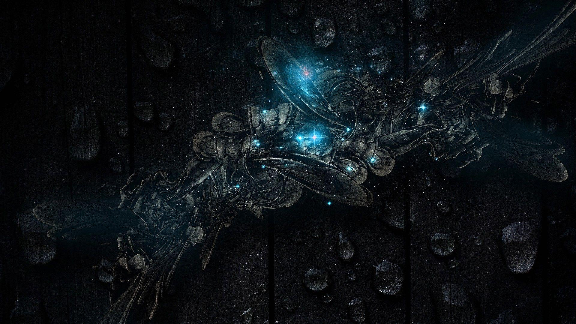 dark abstract technology wallpaper - photo #33
