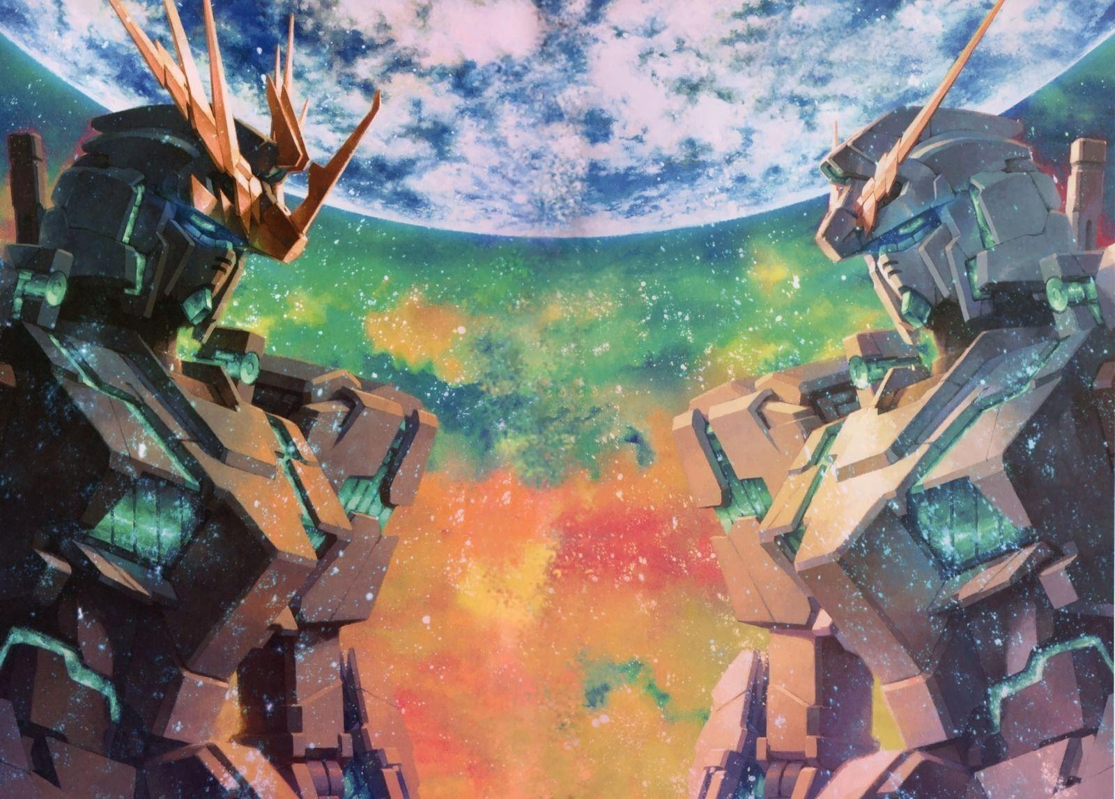 Gundam Unicorn Wallpapers Wallpaper Cave