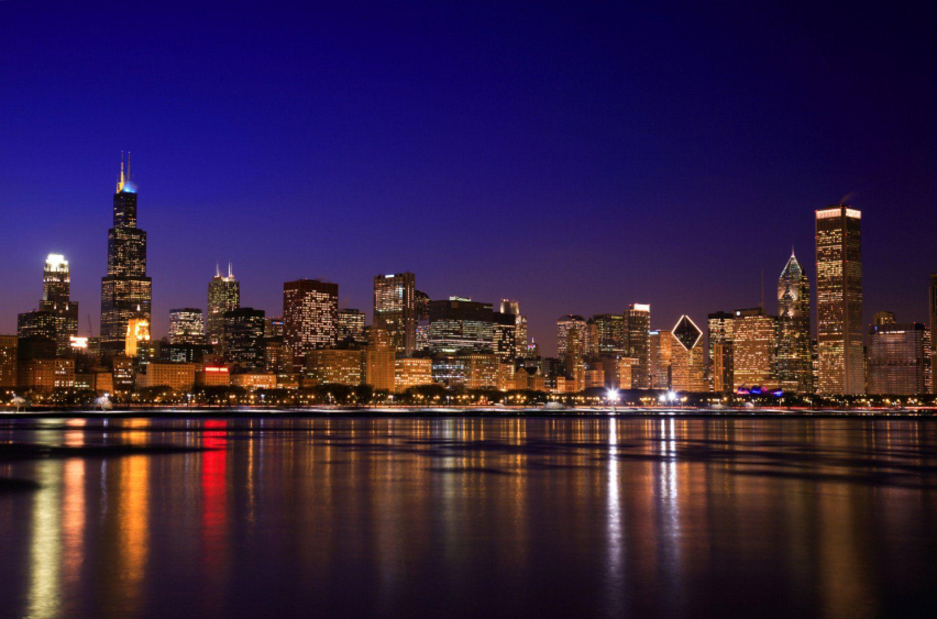 Chicago skyline wallpapers wallpaper cave - Chicago skyline wallpaper 1920x1080 ...