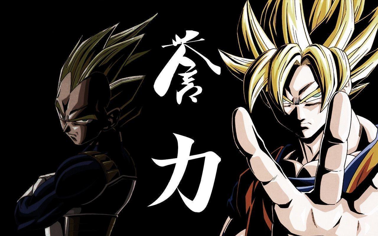 DBZ Warriors - Widescreen Dragon ball Z Wallpapers of Goku, Vegeta ...