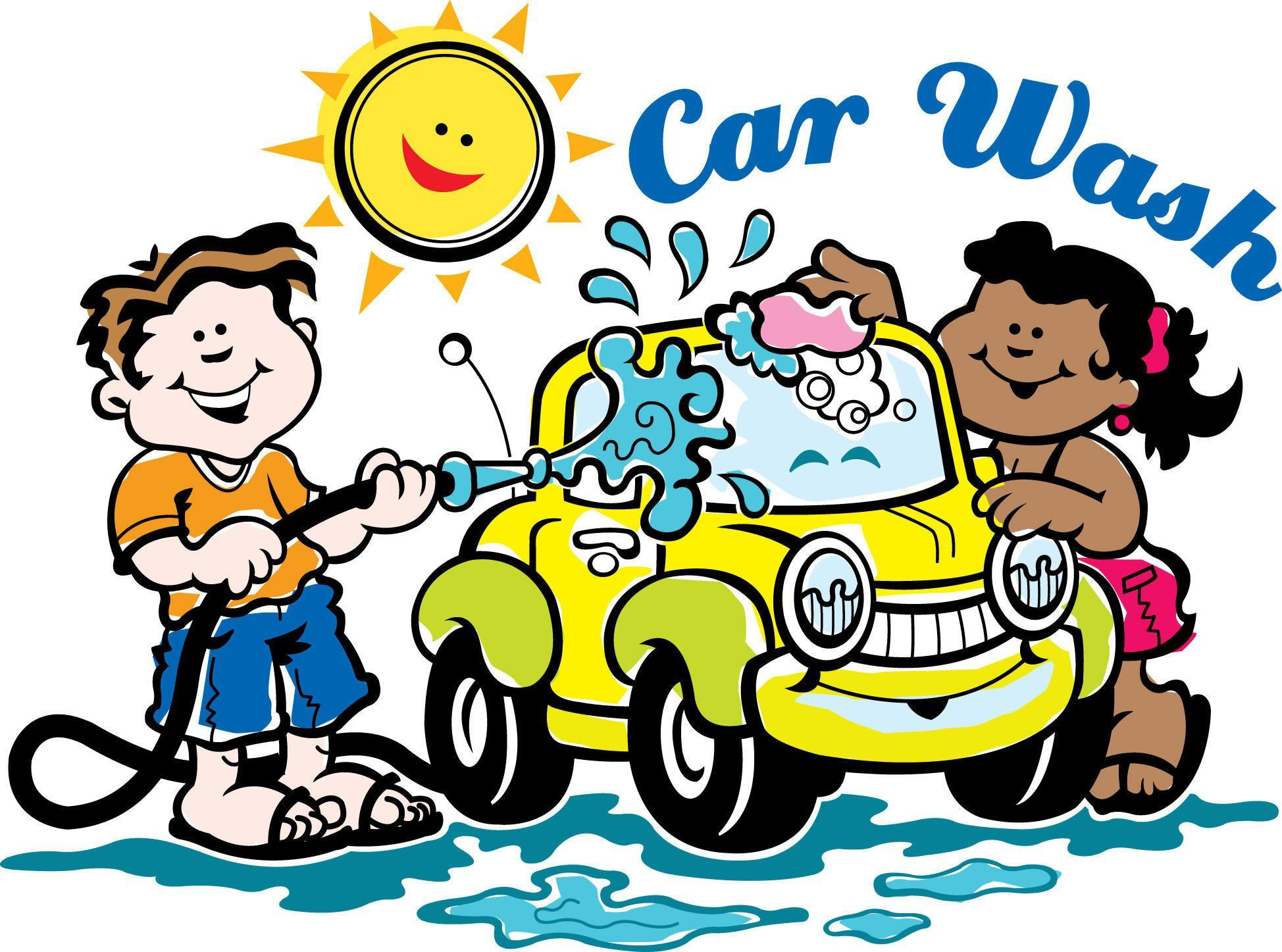 Car Getting Washed Clip Art