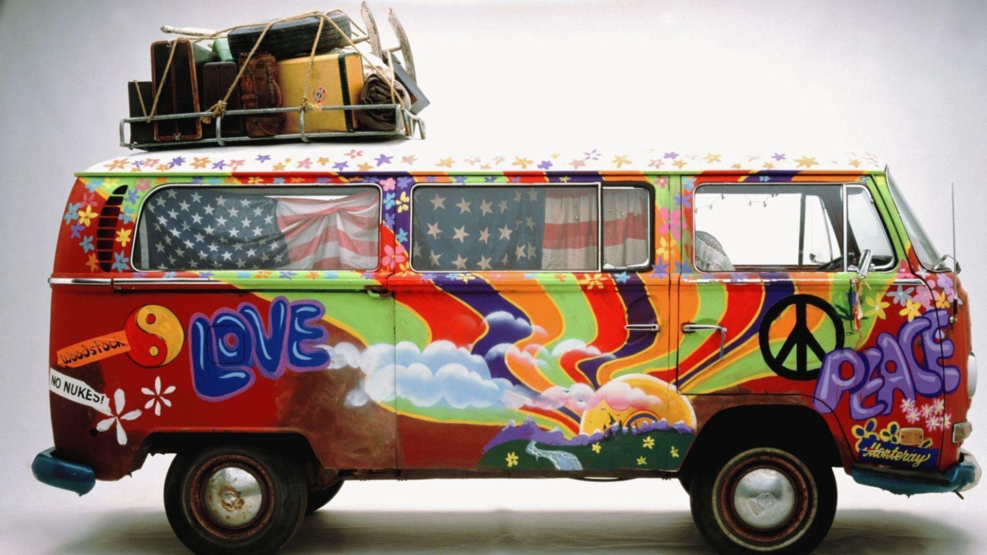 Hippie Van Wallpaper Hd