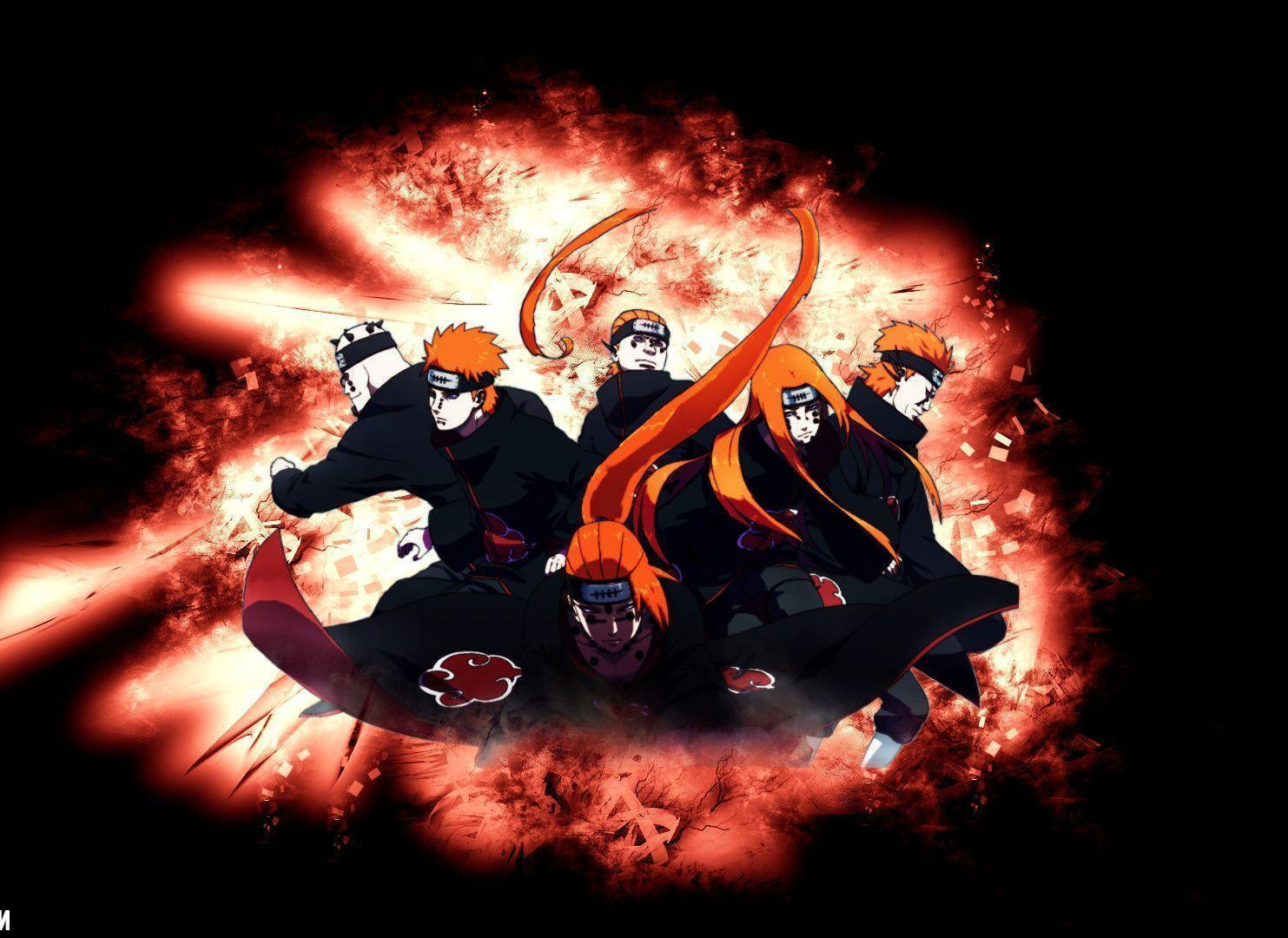 Cool Wallpapers Pain Naruto Backgrounds on ScreenCrot.Com