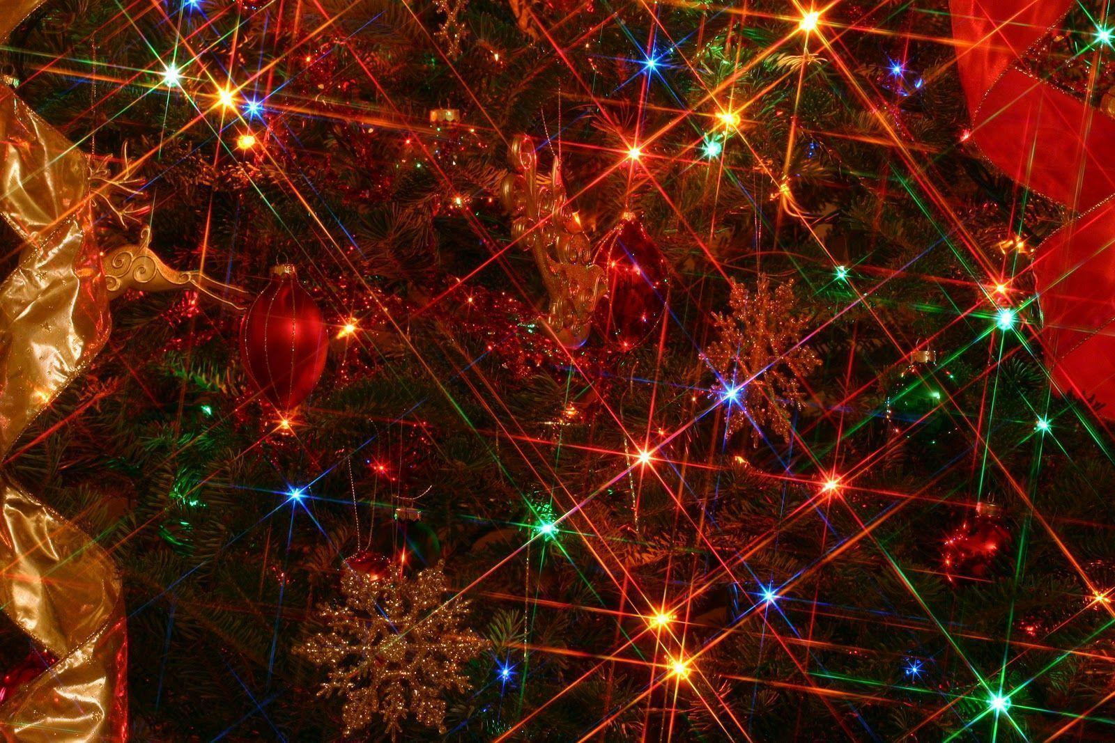 Wallpapers For > Christmas Lights Wallpaper 1920x1080
