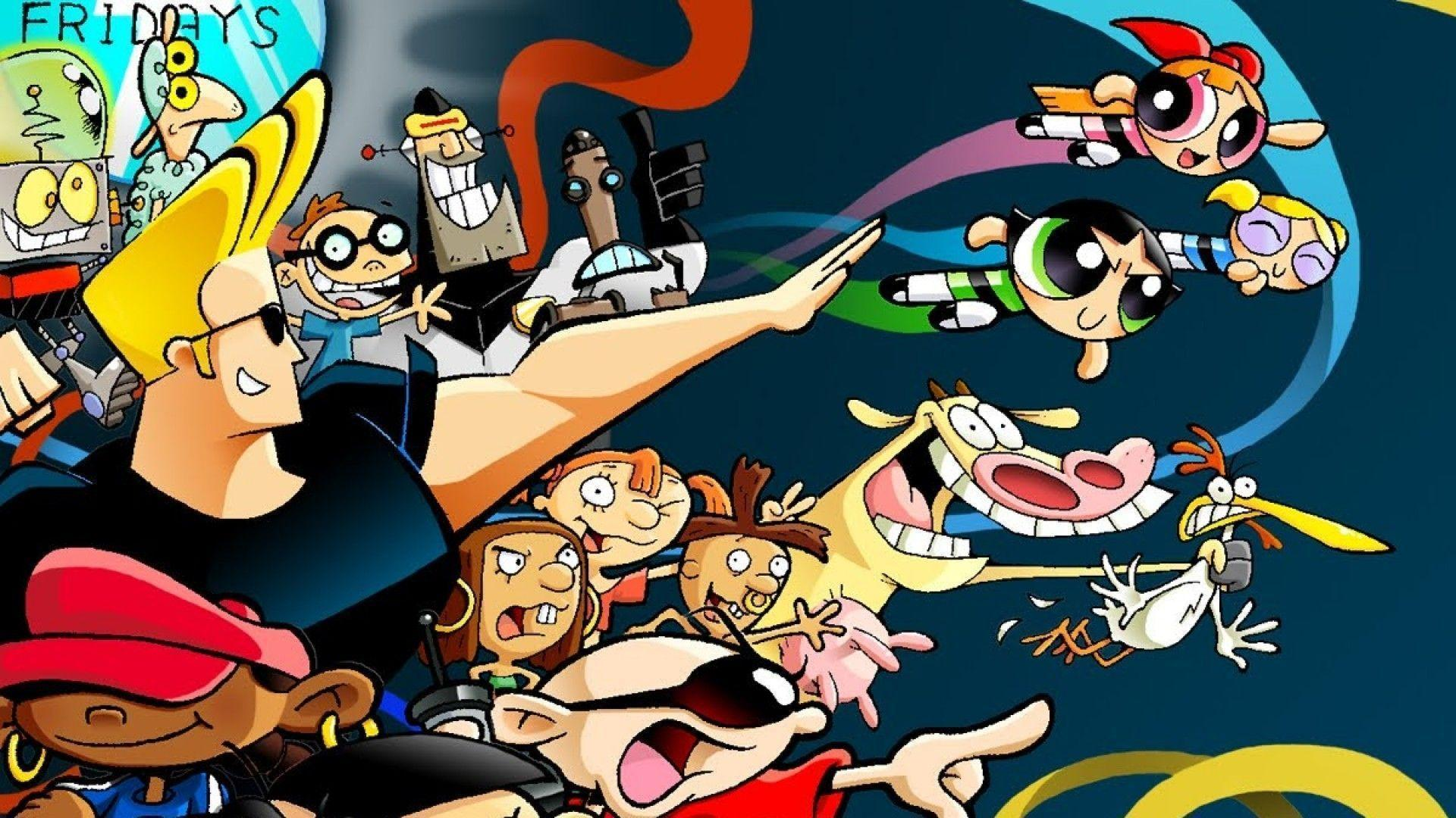 Cartoon network backgrounds wallpaper cave - Female cartoon characters wallpapers ...